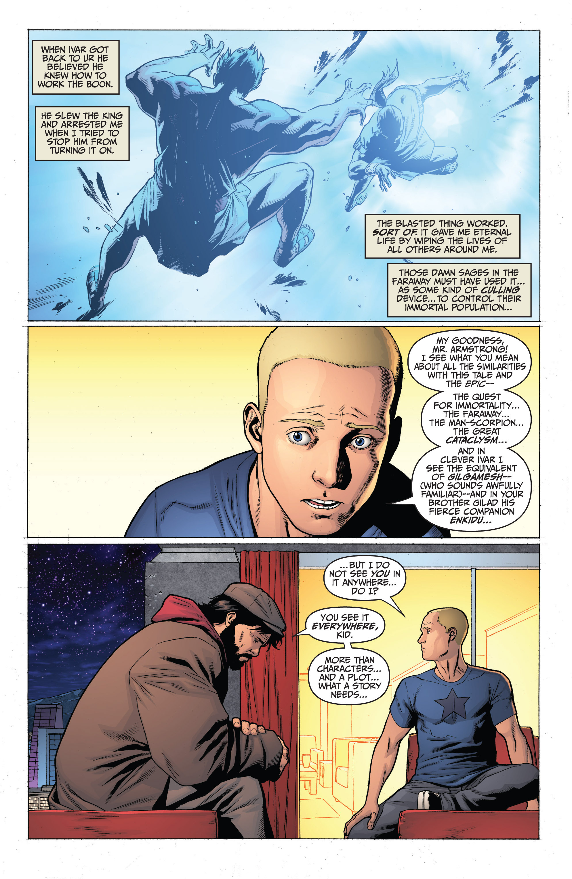 Read online Archer and Armstrong comic -  Issue #Archer and Armstrong _TPB 3 - 24