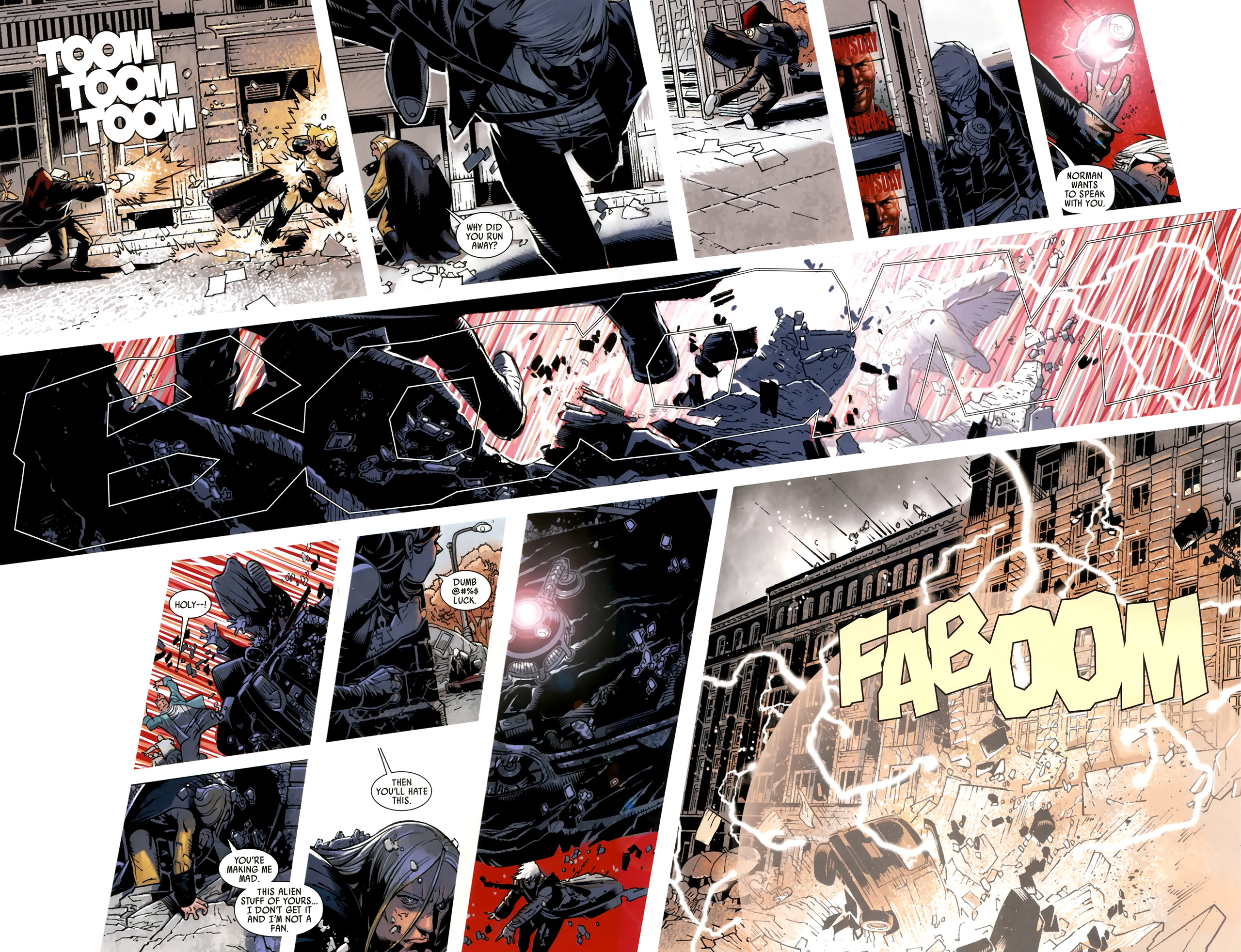 Read online Dark Avengers (2009) comic -  Issue # _Annual 1 - 12