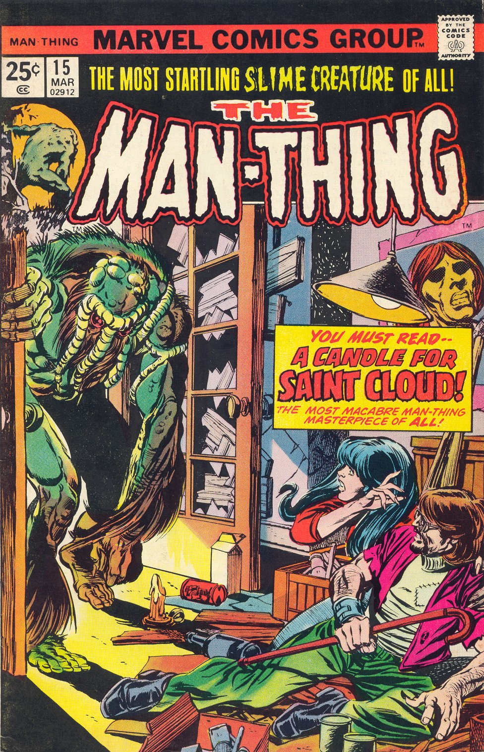 Man-Thing (1974) issue 15 - Page 1