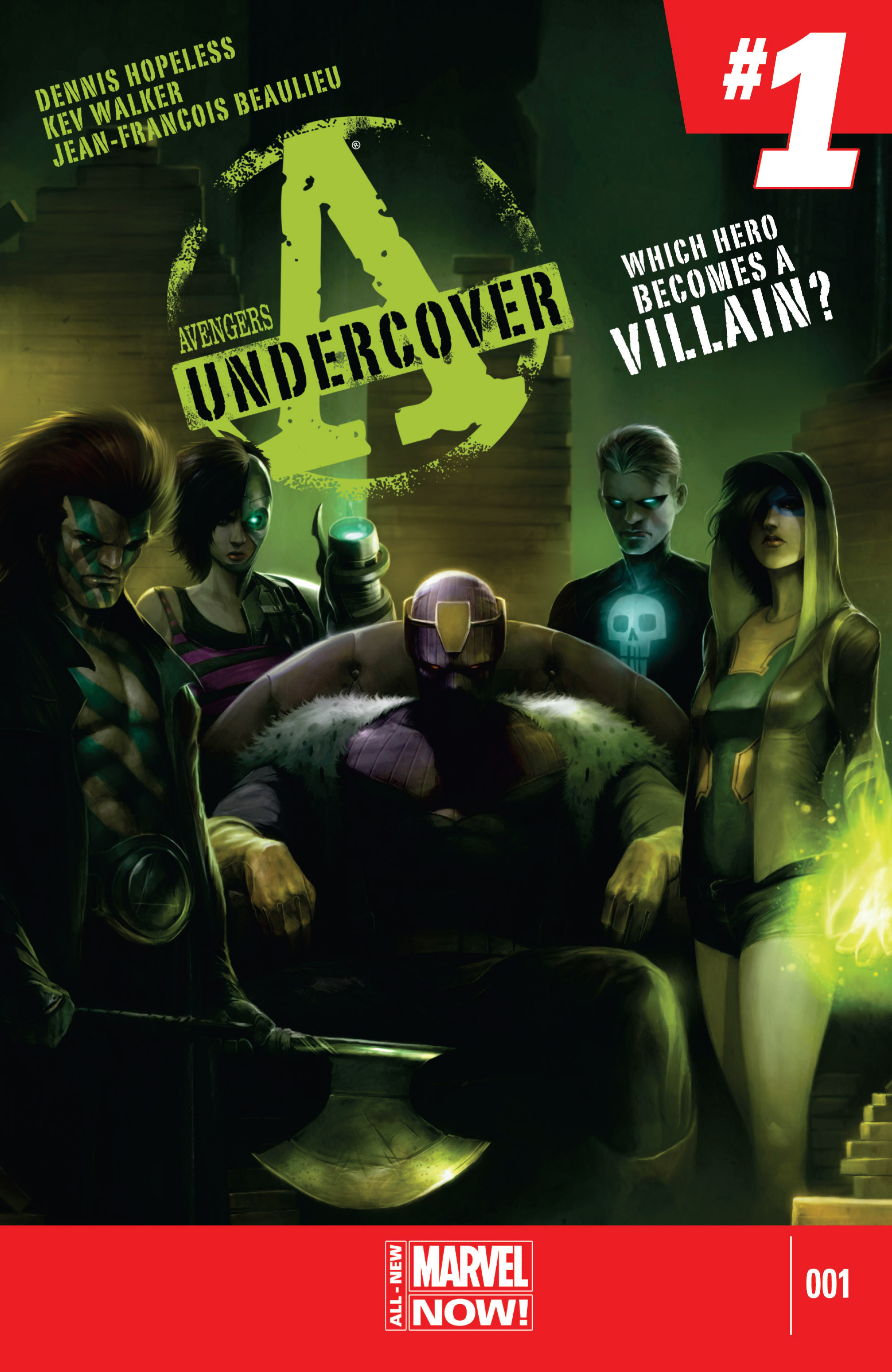 Read online Avengers Undercover comic -  Issue #1 - 1