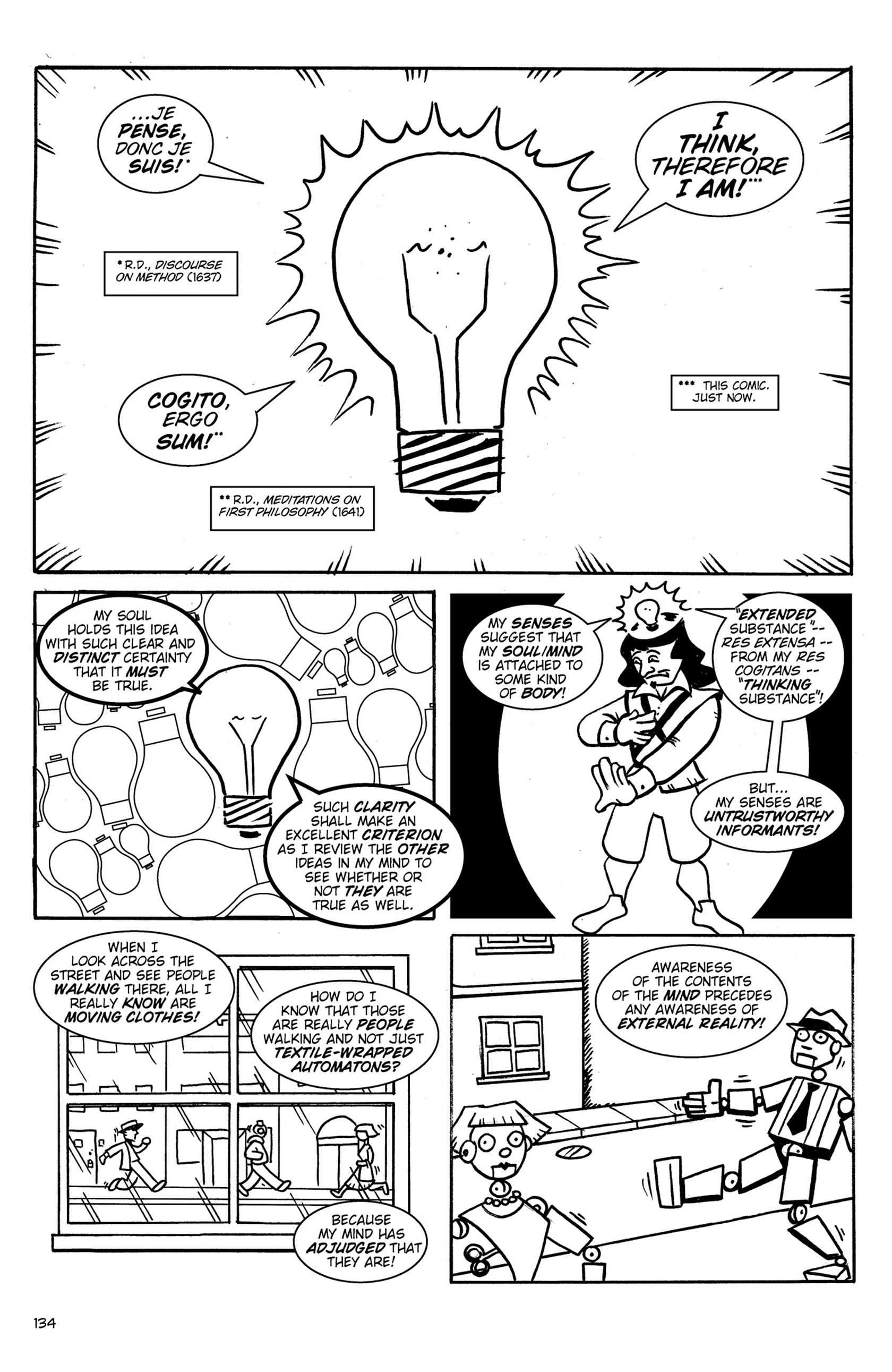 Read online Action Philosophers! comic -  Issue #Action Philosophers! TPB (Part 1) - 133