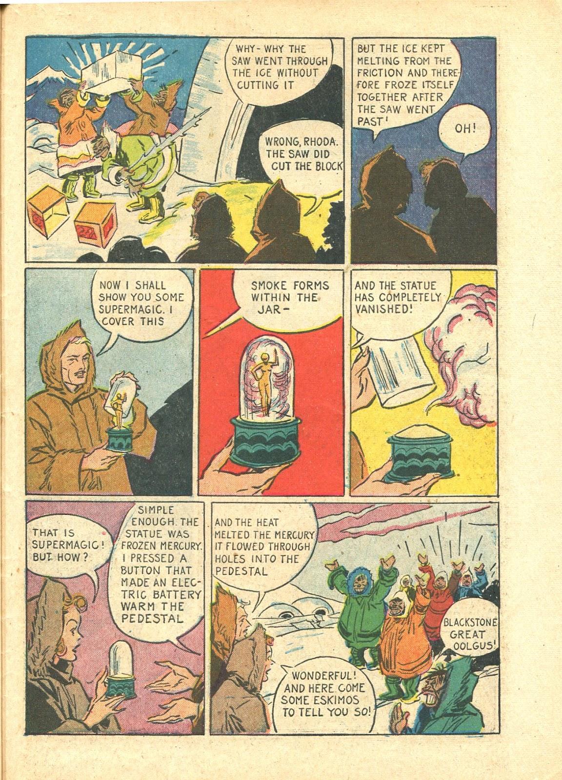Read online Super-Magician Comics comic -  Issue #21 - 53