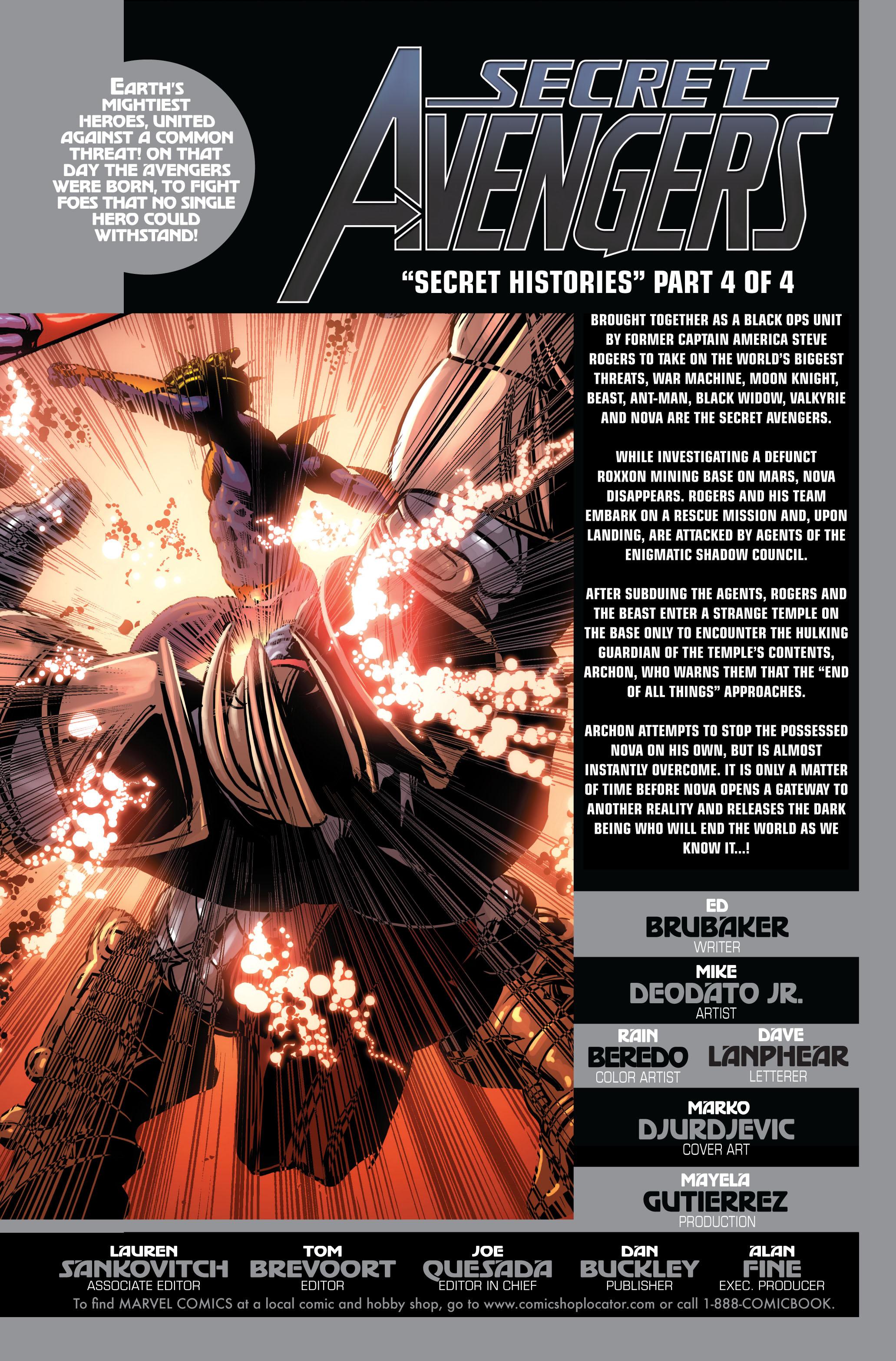 Read online Secret Avengers (2010) comic -  Issue #4 - 2