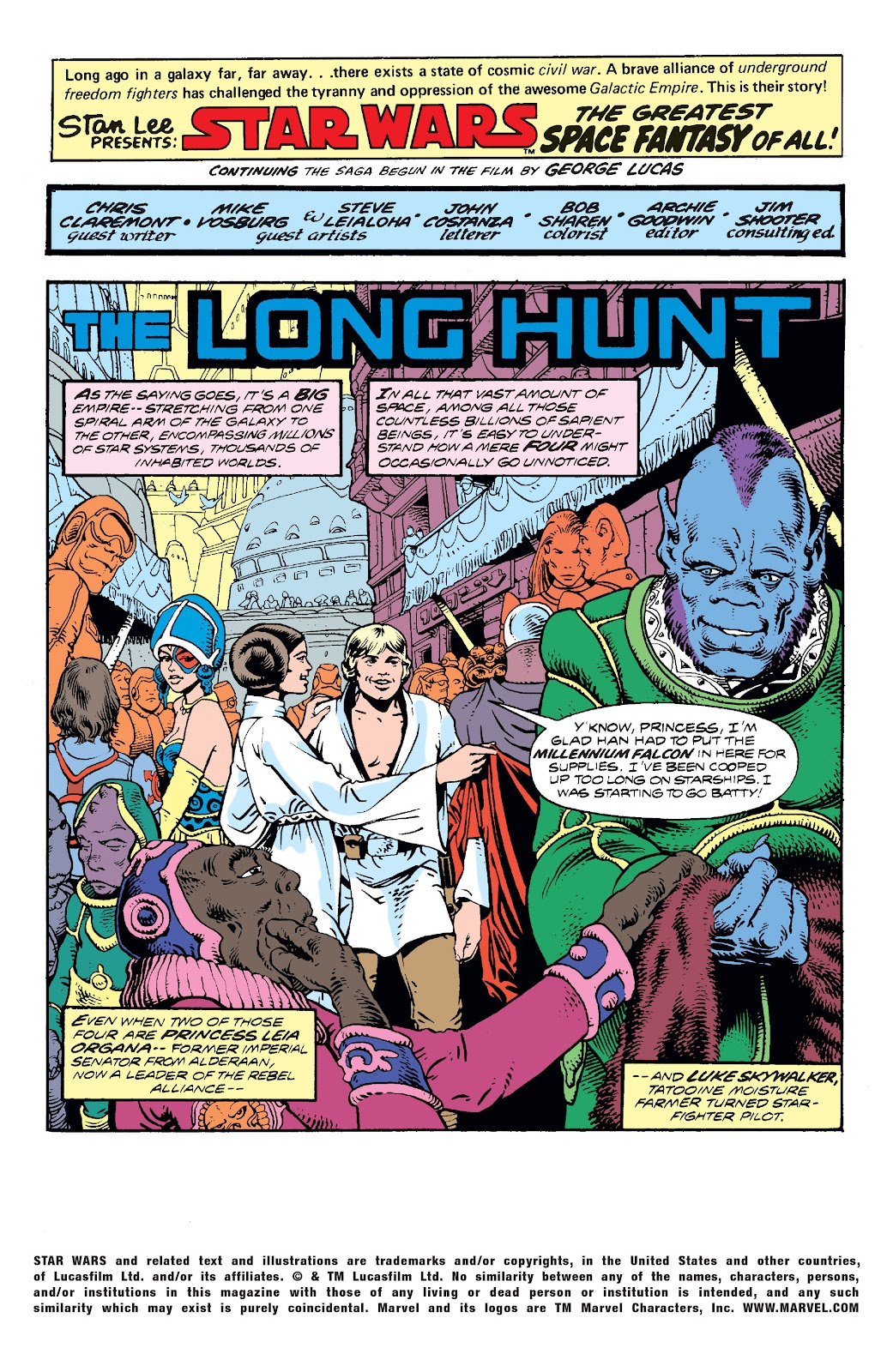 Read online Star Wars Legends: The Original Marvel Years - Epic Collection comic -  Issue # TPB 2 (Part 3) - 3