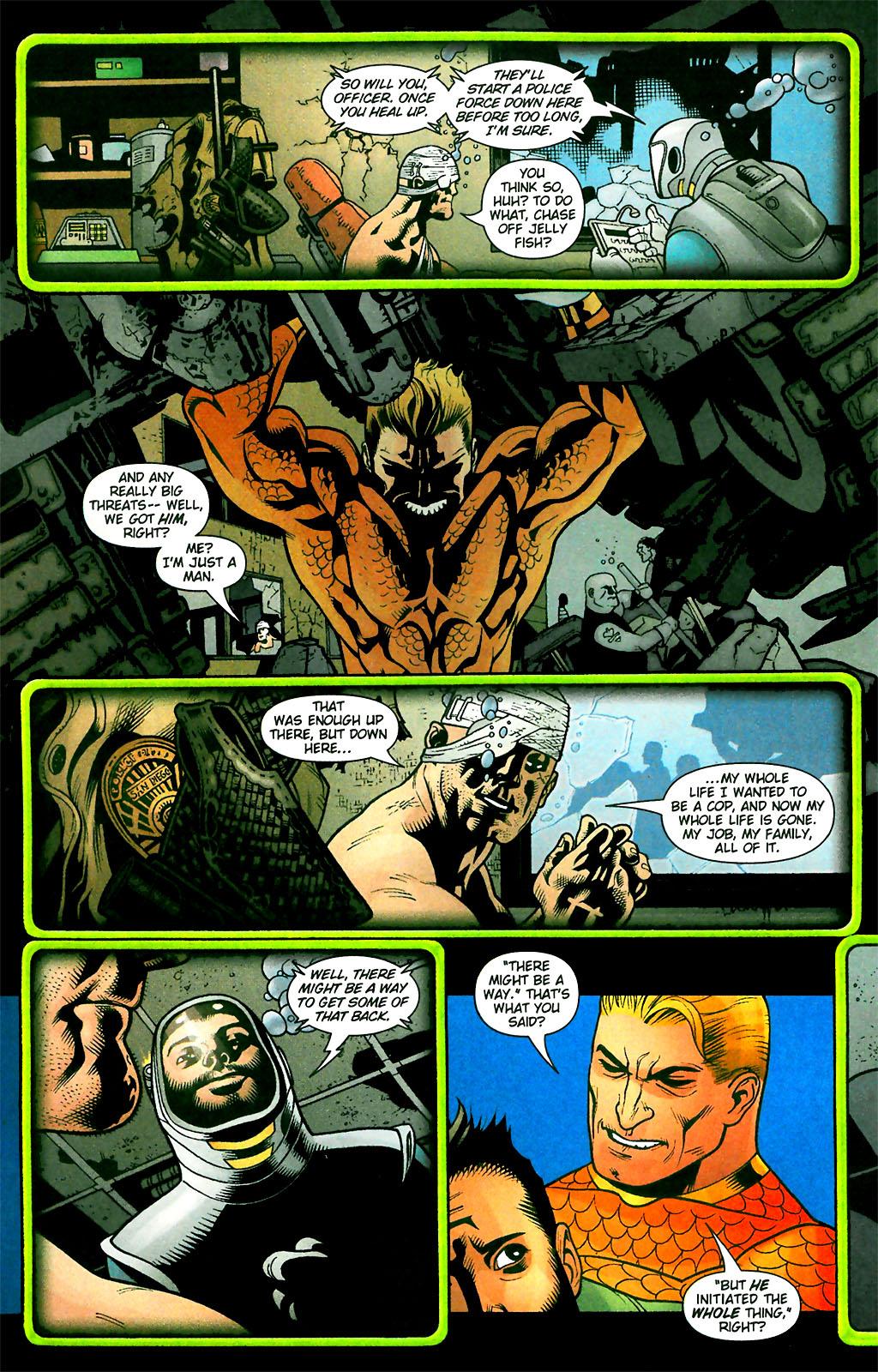 Read online Aquaman (2003) comic -  Issue #28 - 20