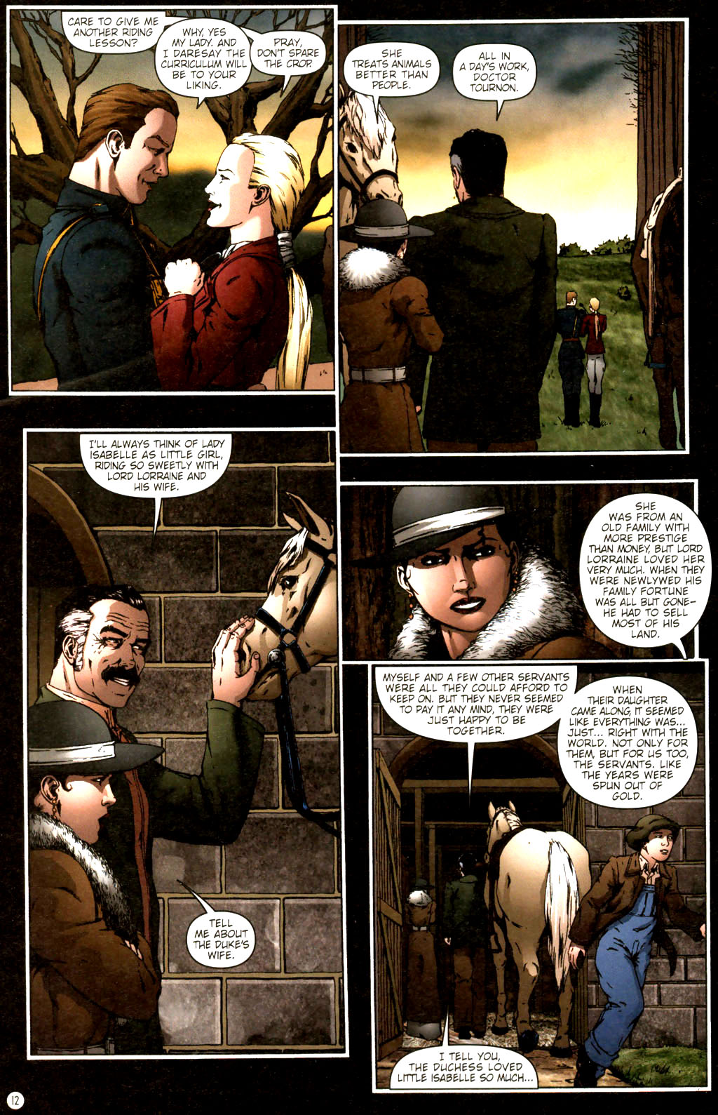 Read online Rex Mundi comic -  Issue #9 - 16