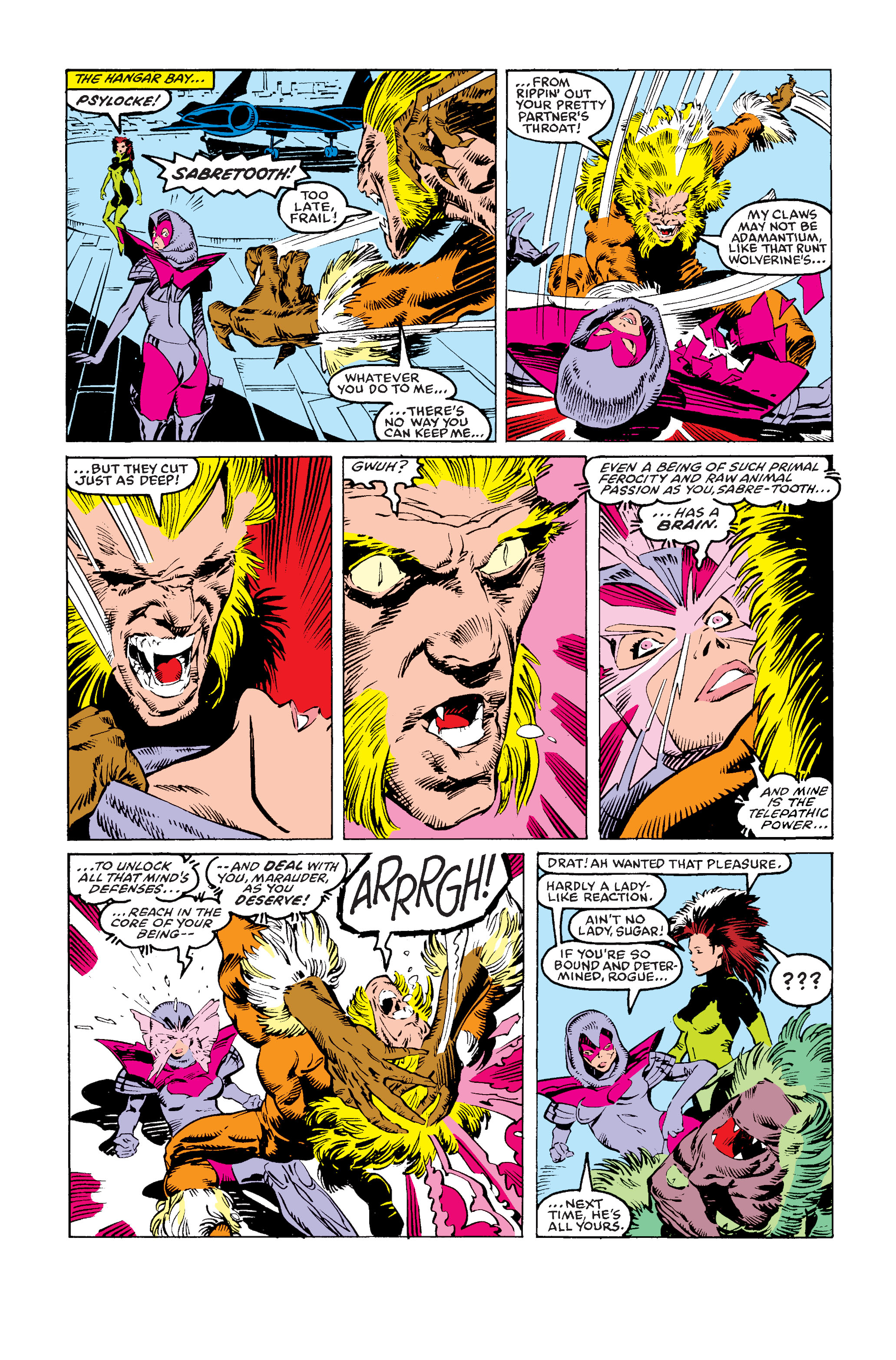 Read online Uncanny X-Men (1963) comic -  Issue #243 - 19