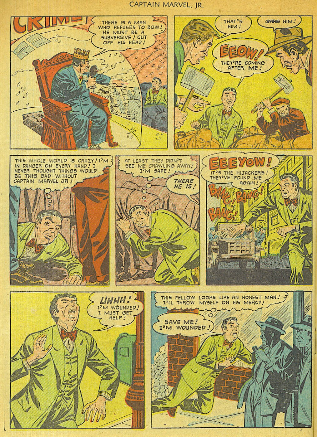 Captain Marvel, Jr. issue 96 - Page 10