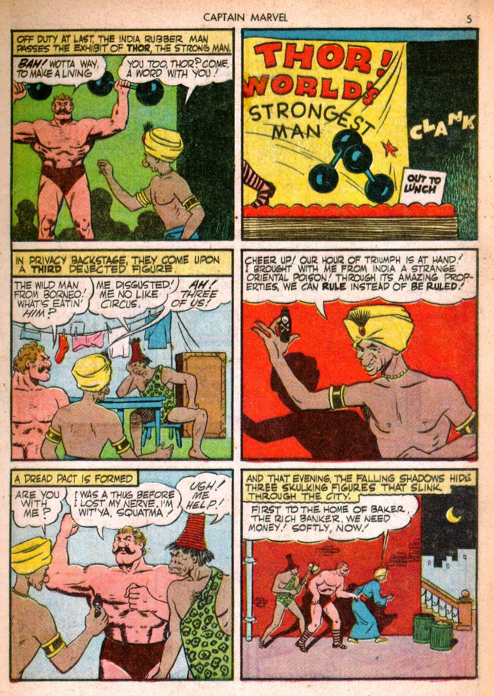 Captain Marvel Adventures issue 10 - Page 5