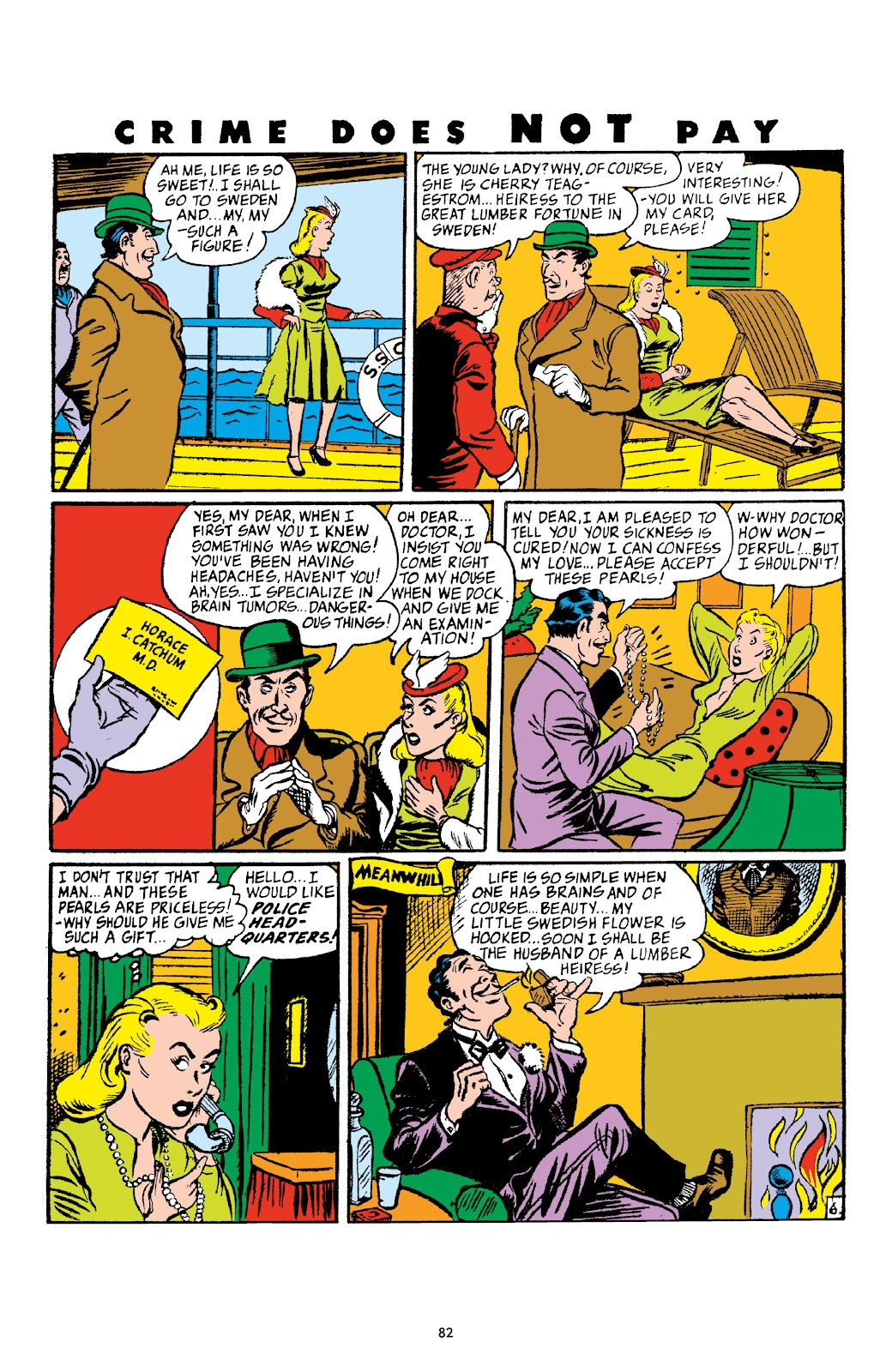 Read online Crime Does Not Pay Archives comic -  Issue # TPB 4 (Part 1) - 82
