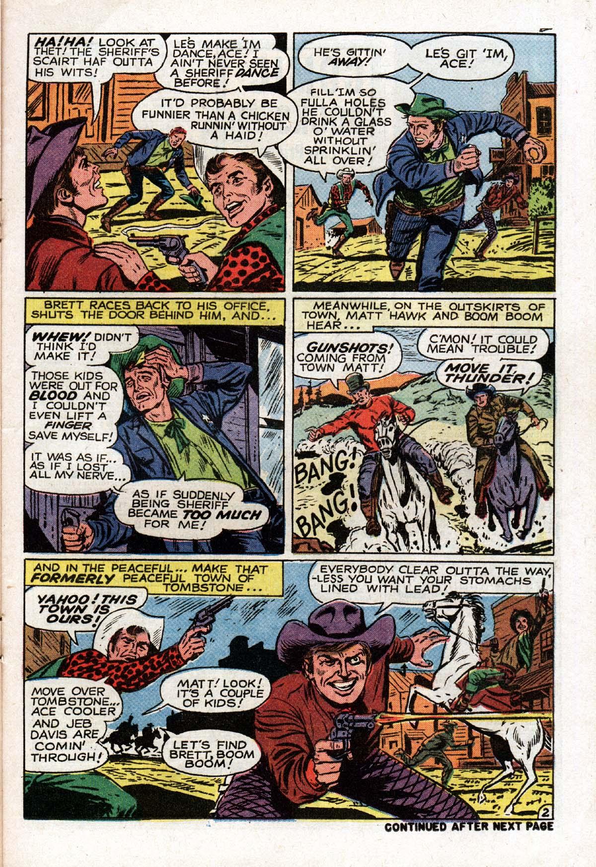 Read online Two-Gun Kid comic -  Issue #104 - 21