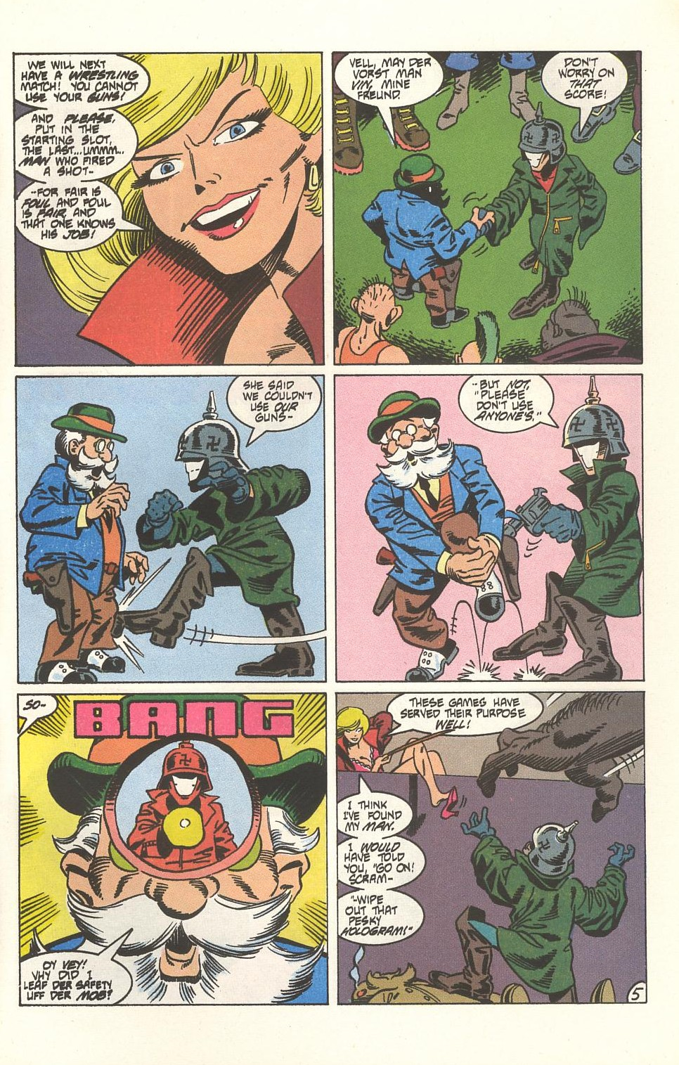 Read online American Flagg! comic -  Issue #33 - 31