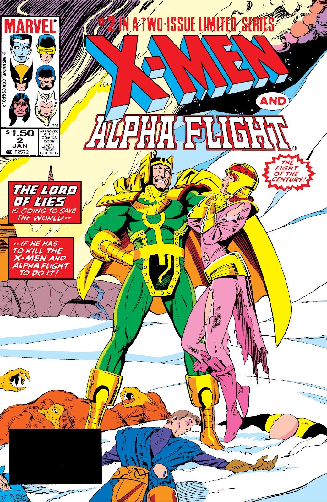 X-Men/Alpha Flight (1985) 2 Page 1