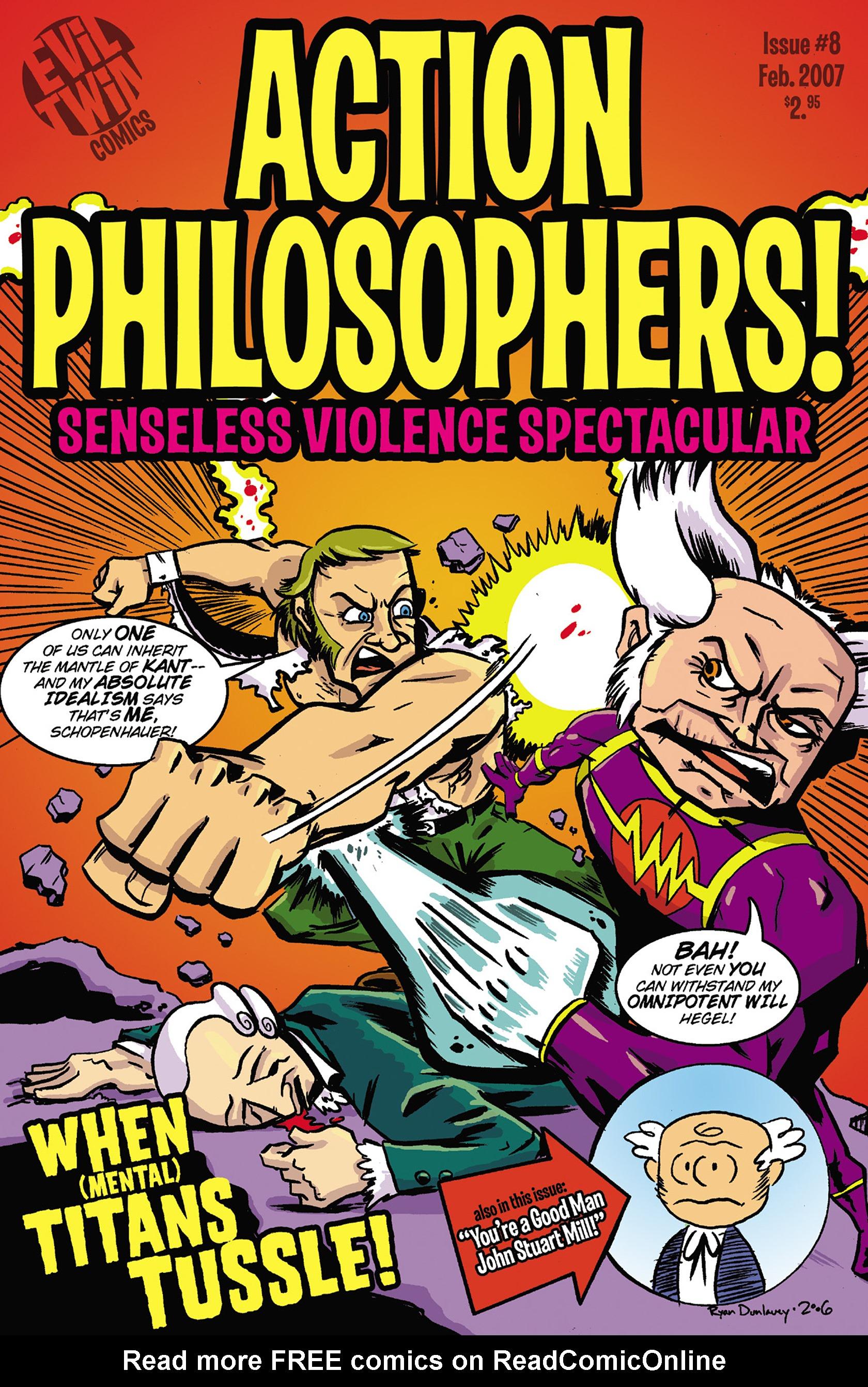 Read online Action Philosophers! comic -  Issue #Action Philosophers! TPB (Part 2) - 158