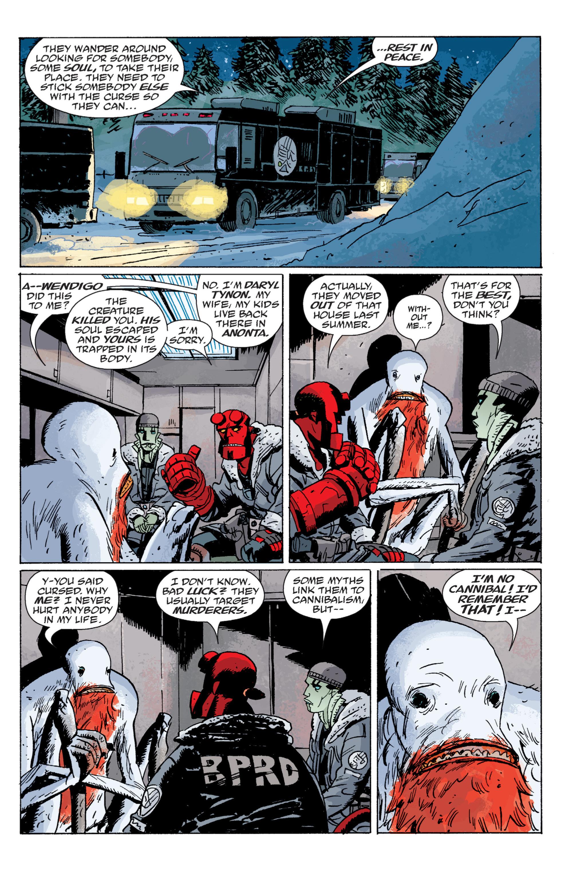 Read online B.P.R.D. (2003) comic -  Issue # TPB 6 - 106