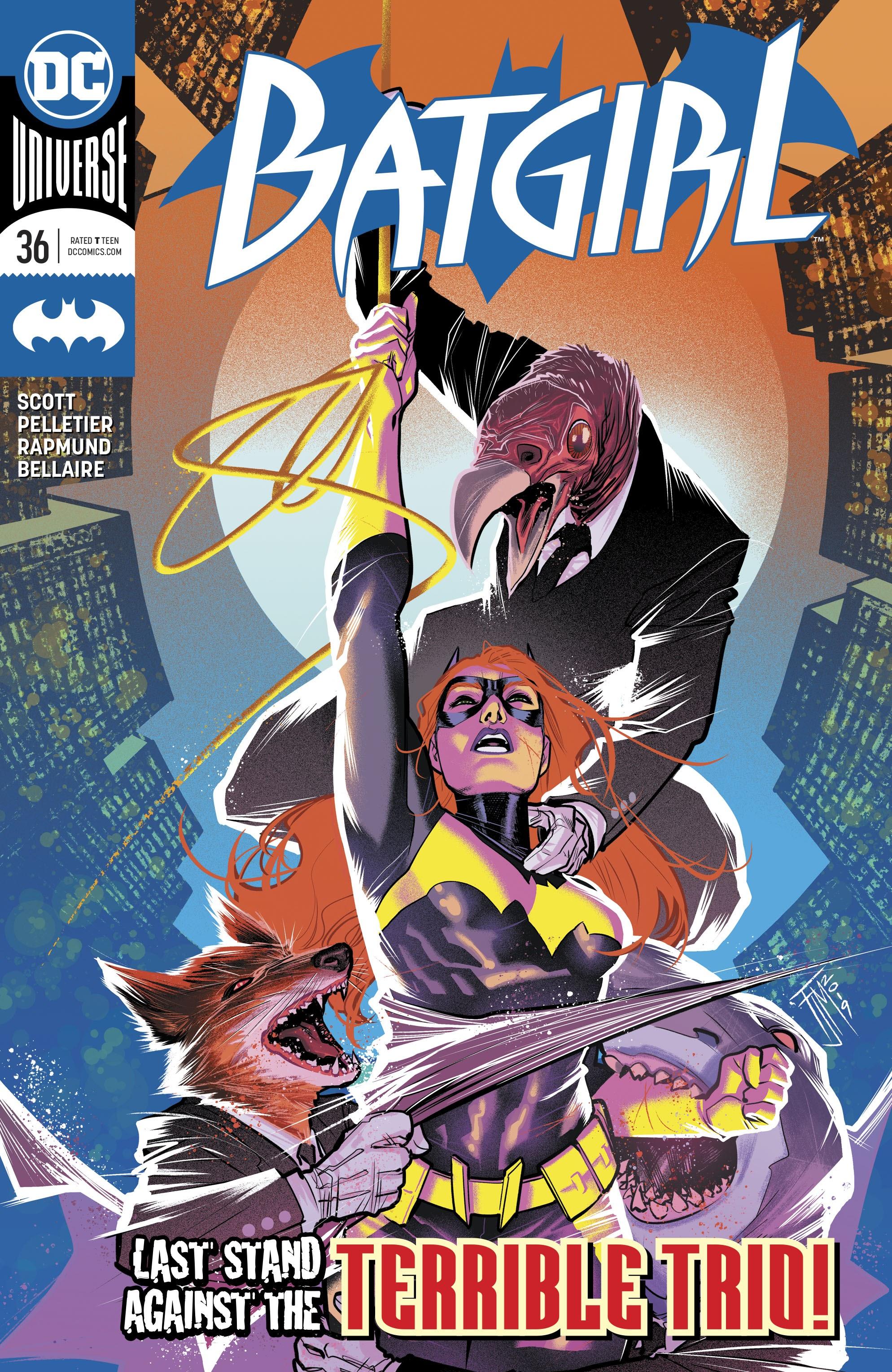 Batgirl (2016) 36 Page 1