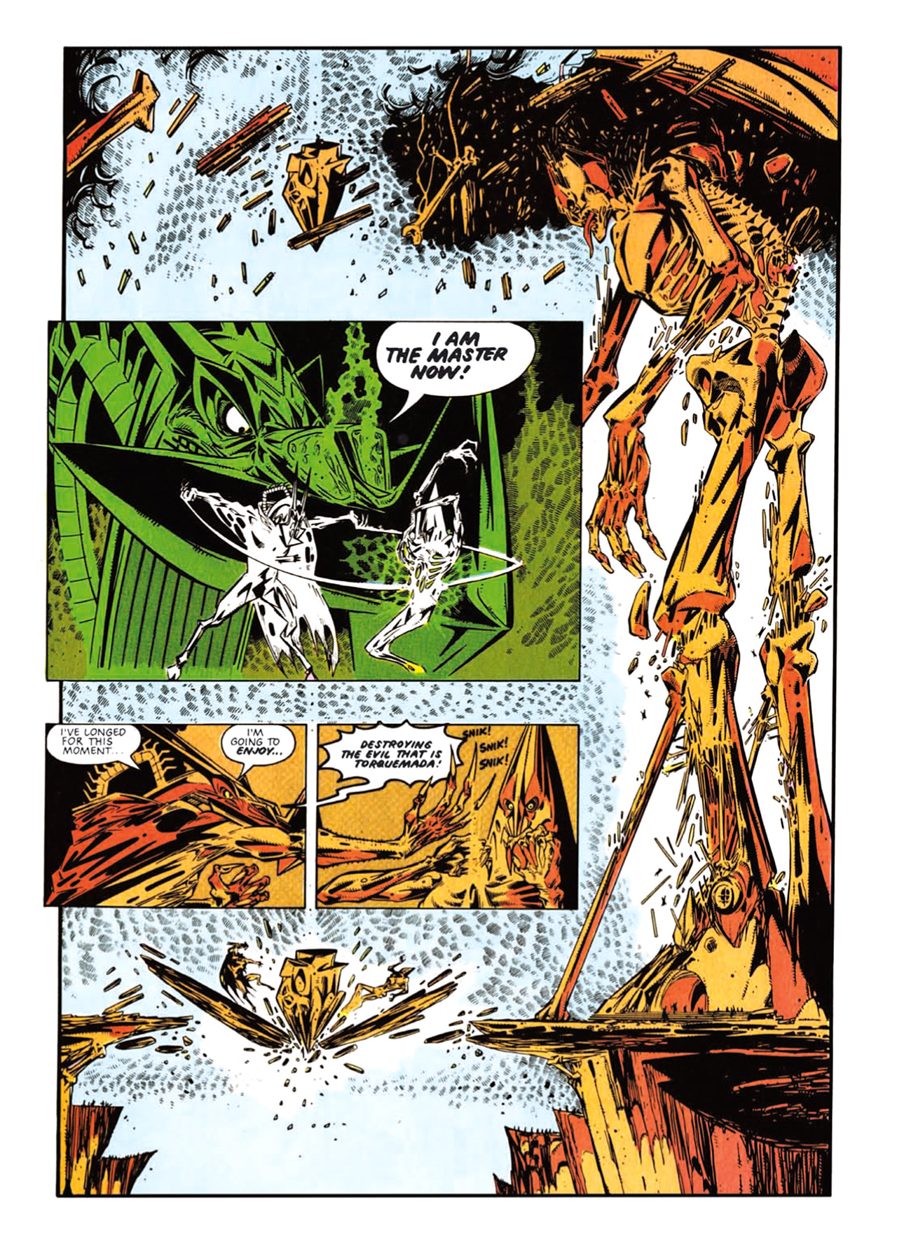 Read online Nemesis The Warlock comic -  Issue # TPB Deviant Edition - 87