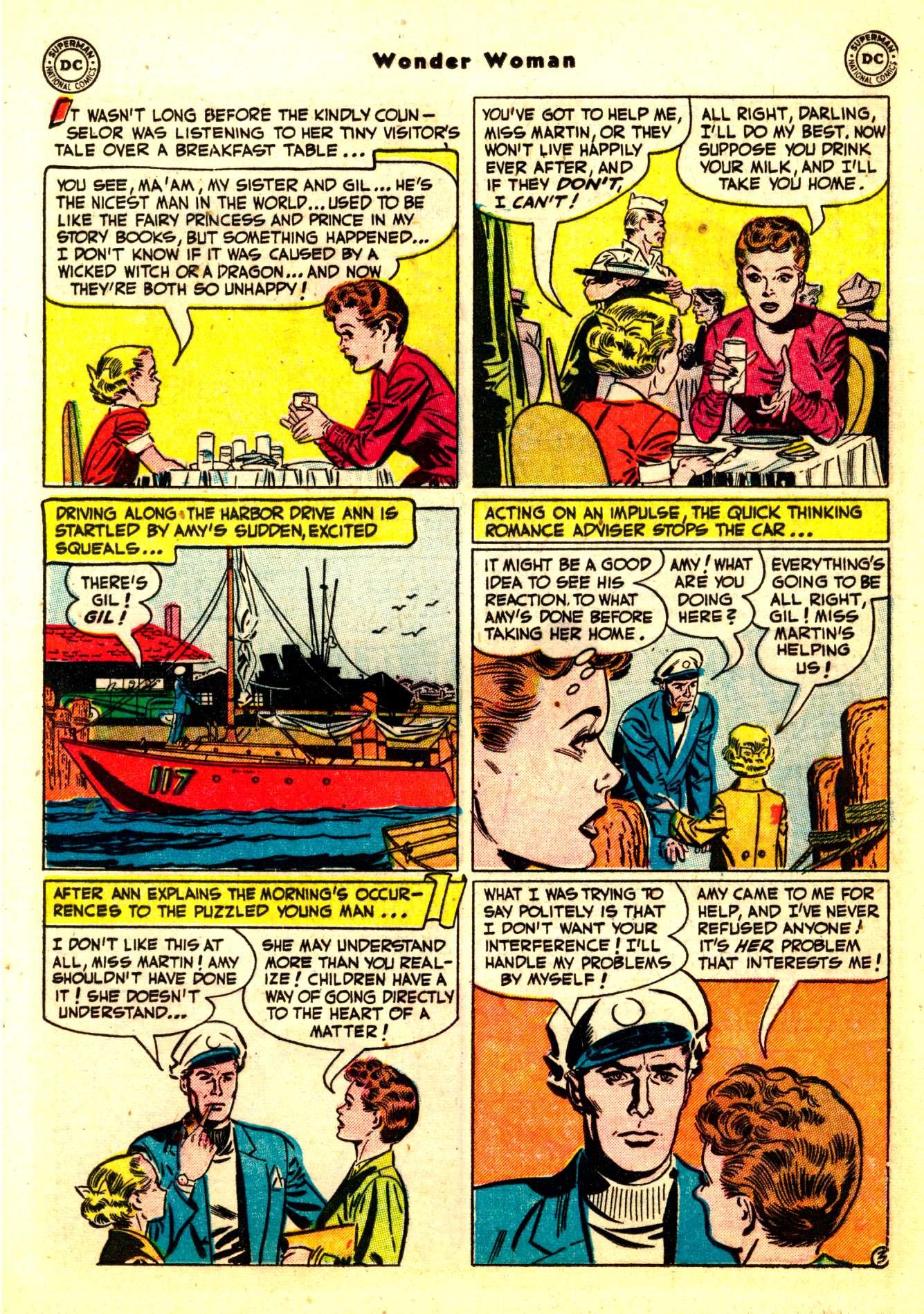 Read online Wonder Woman (1942) comic -  Issue #50 - 19