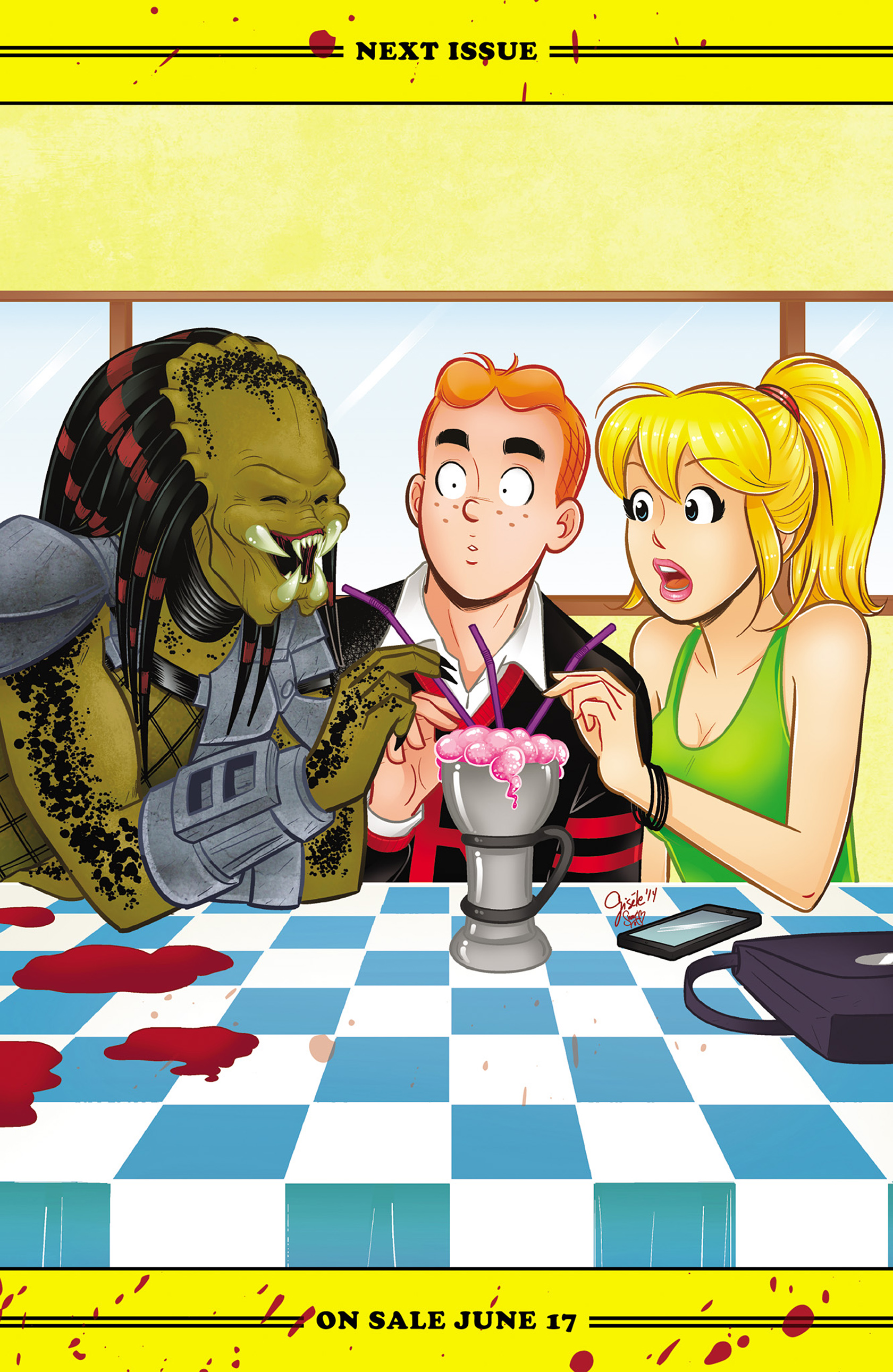 Read online Archie vs. Predator comic -  Issue #2 - 25