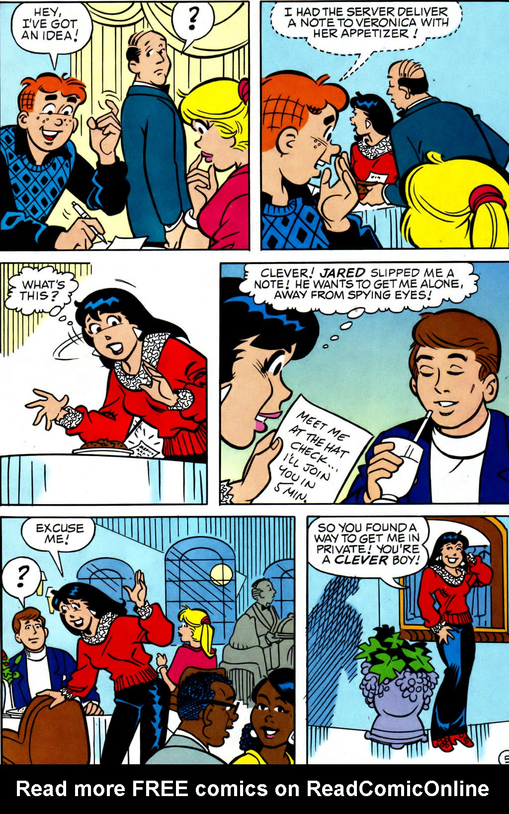 Read online Archie (1960) comic -  Issue #562 - 6