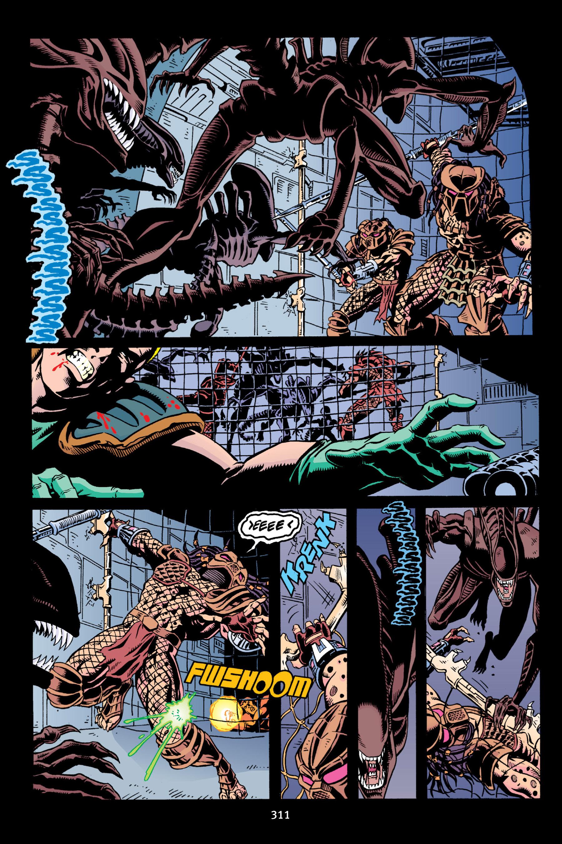 Read online Aliens vs. Predator Omnibus comic -  Issue # _TPB 2 Part 3 - 86