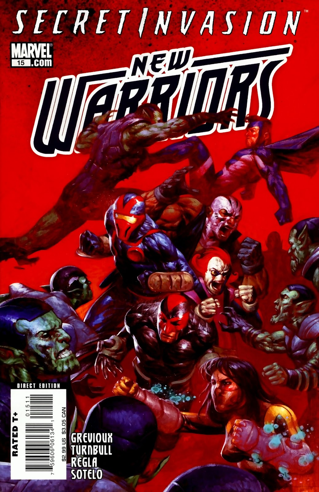 New Warriors (2007) issue 15 - Page 1