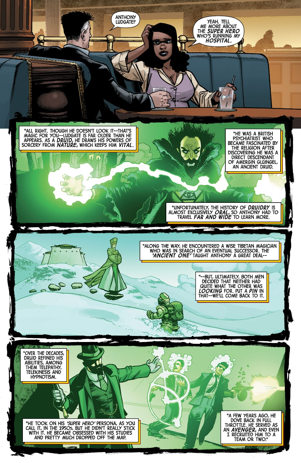 Read online Dr. Strange comic -  Issue #4 - 9