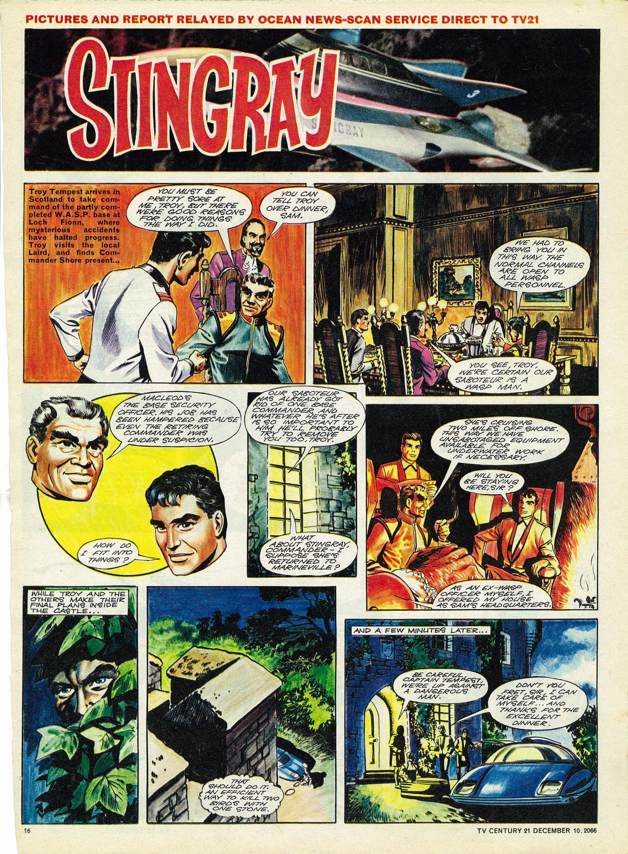 Read online TV Century 21 (TV 21) comic -  Issue #99 - 15