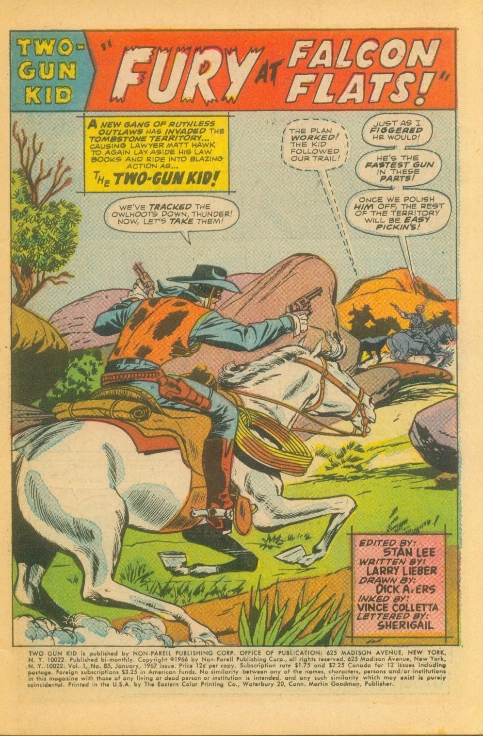 Read online Two-Gun Kid comic -  Issue #85 - 4