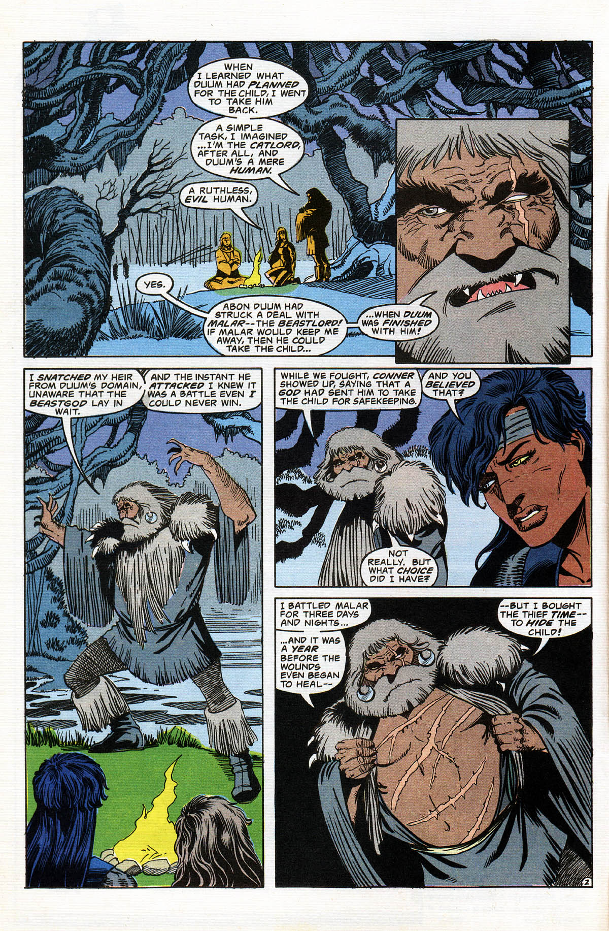 Read online Advanced Dungeons & Dragons comic -  Issue #16 - 4