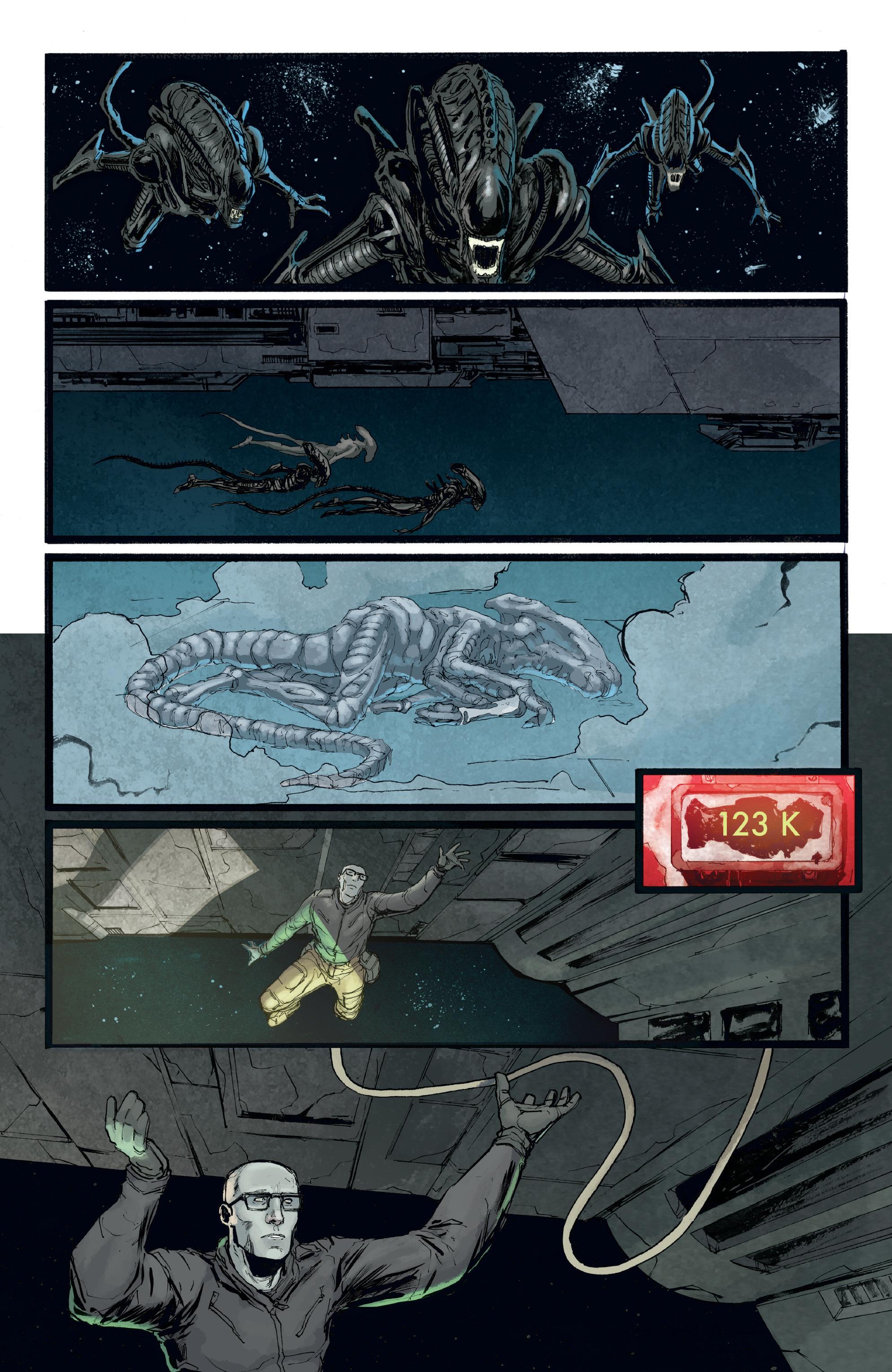 Read online Aliens: Defiance comic -  Issue #8 - 8