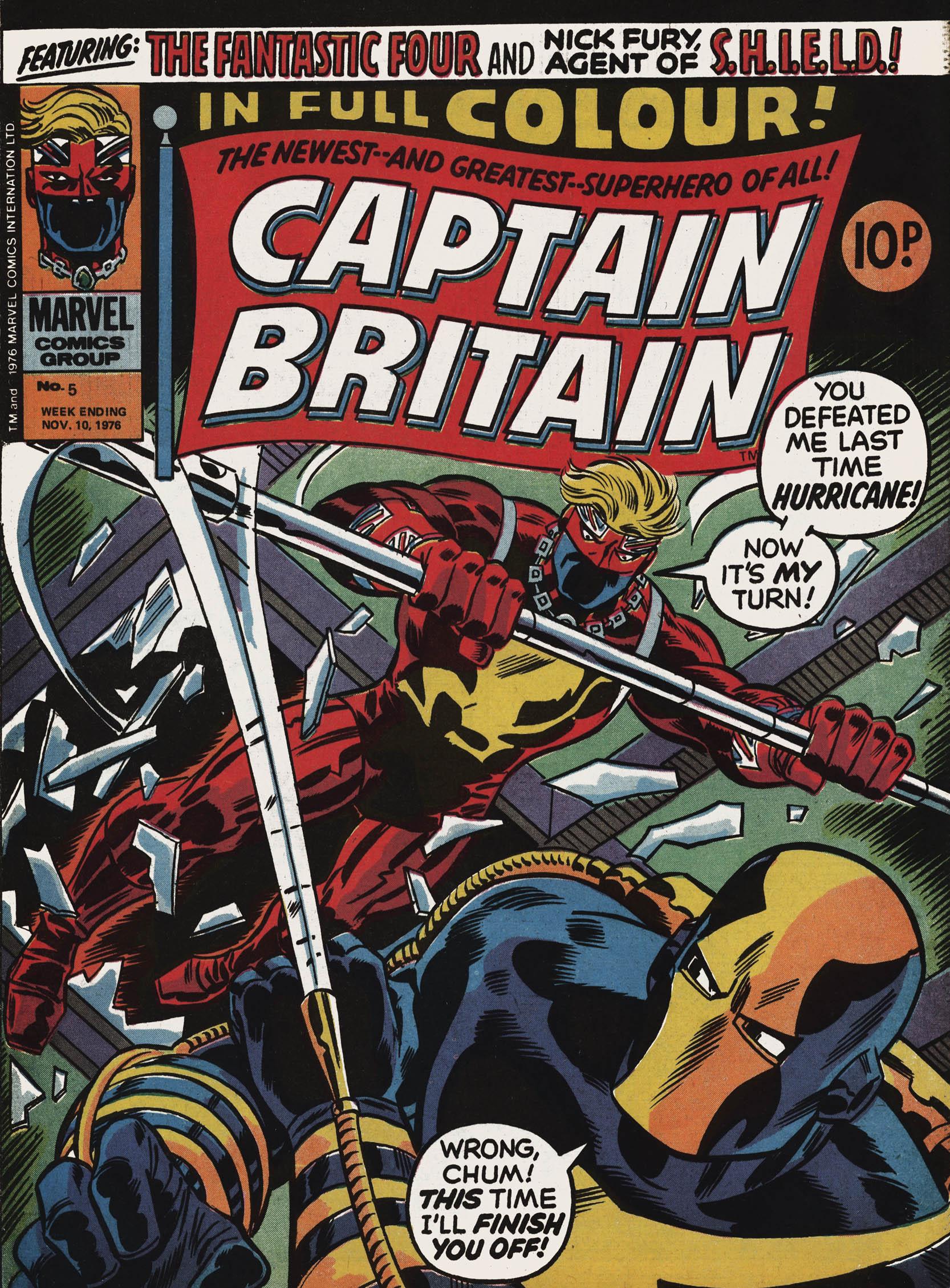 Captain Britain (1976) 5 Page 1