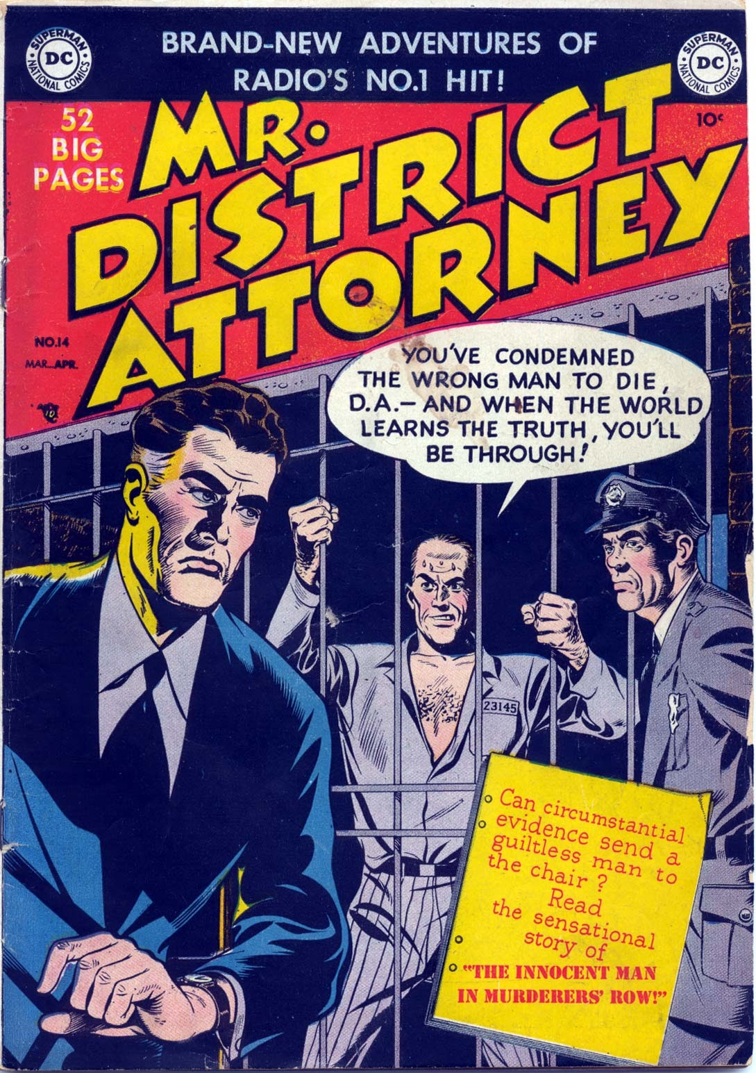 Mr. District Attorney issue 14 - Page 1