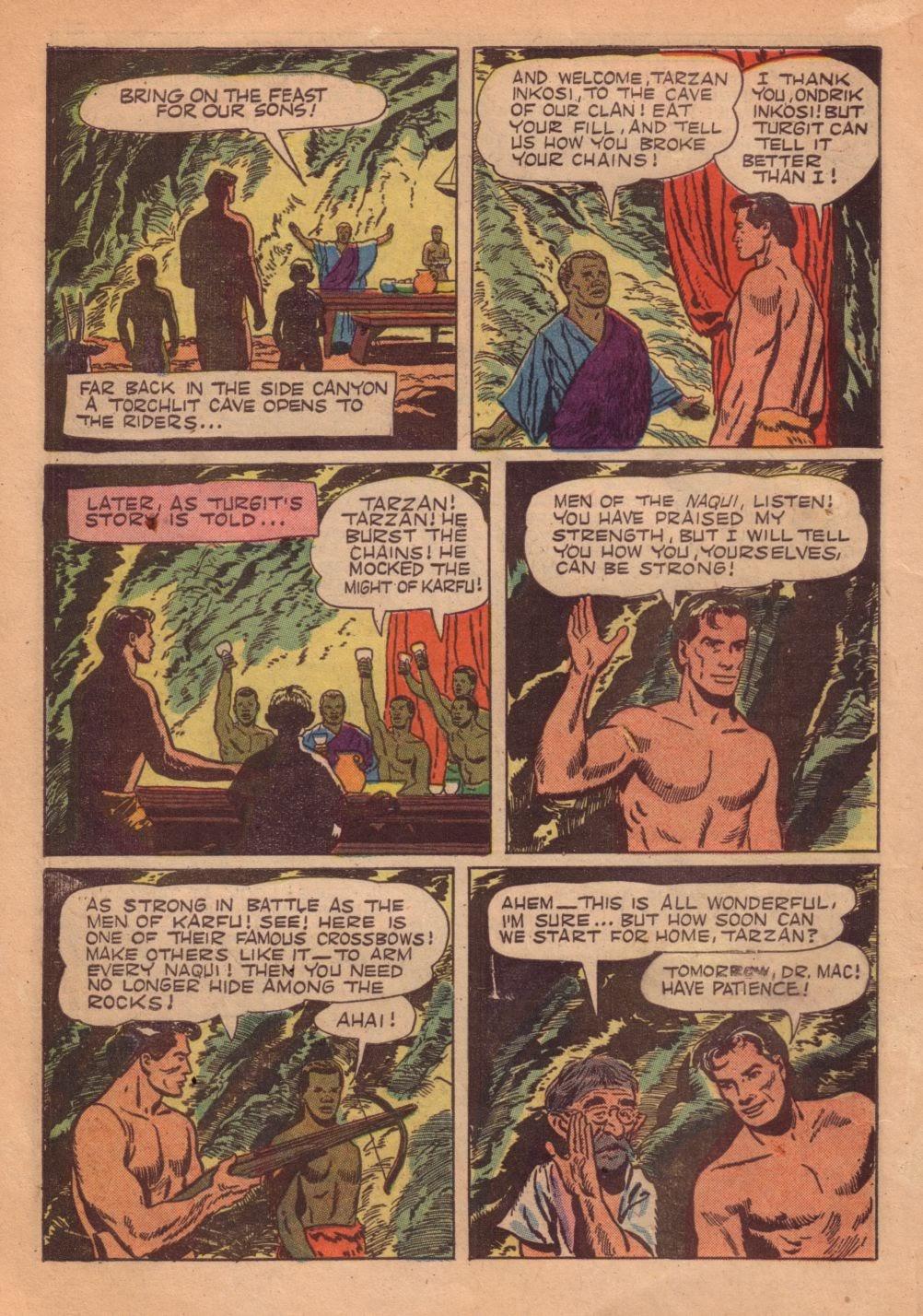 Tarzan (1948) issue 55 - Page 18