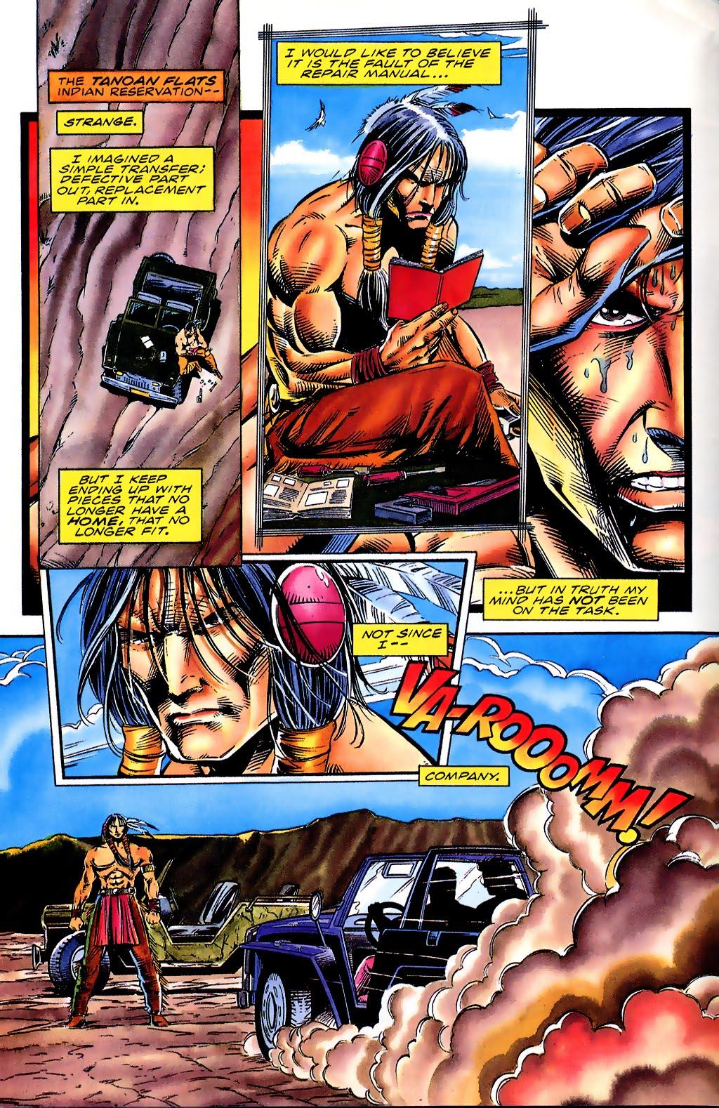 Read online Turok, Dinosaur Hunter (1993) comic -  Issue #41 - 3