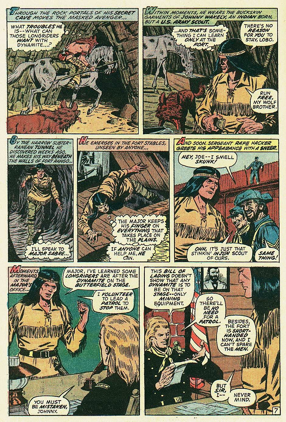 Red Wolf (1972) issue 2 - Page 8