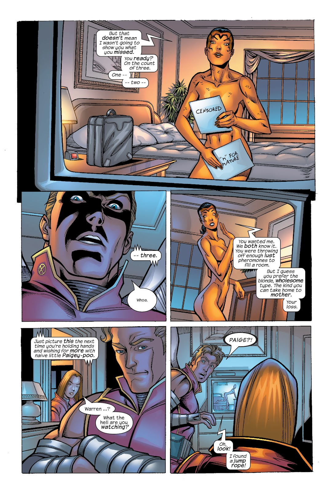 Read online X-Men: Unstoppable comic -  Issue # TPB (Part 4) - 43