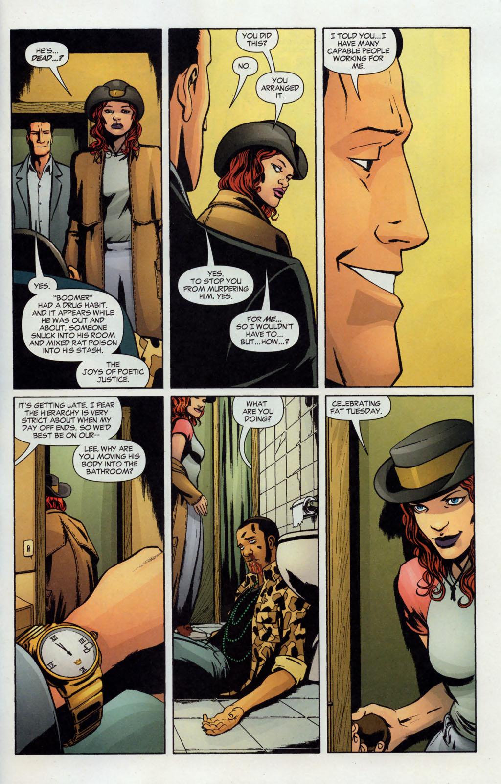 Read online Fallen Angel (2003) comic -  Issue #12 - 21