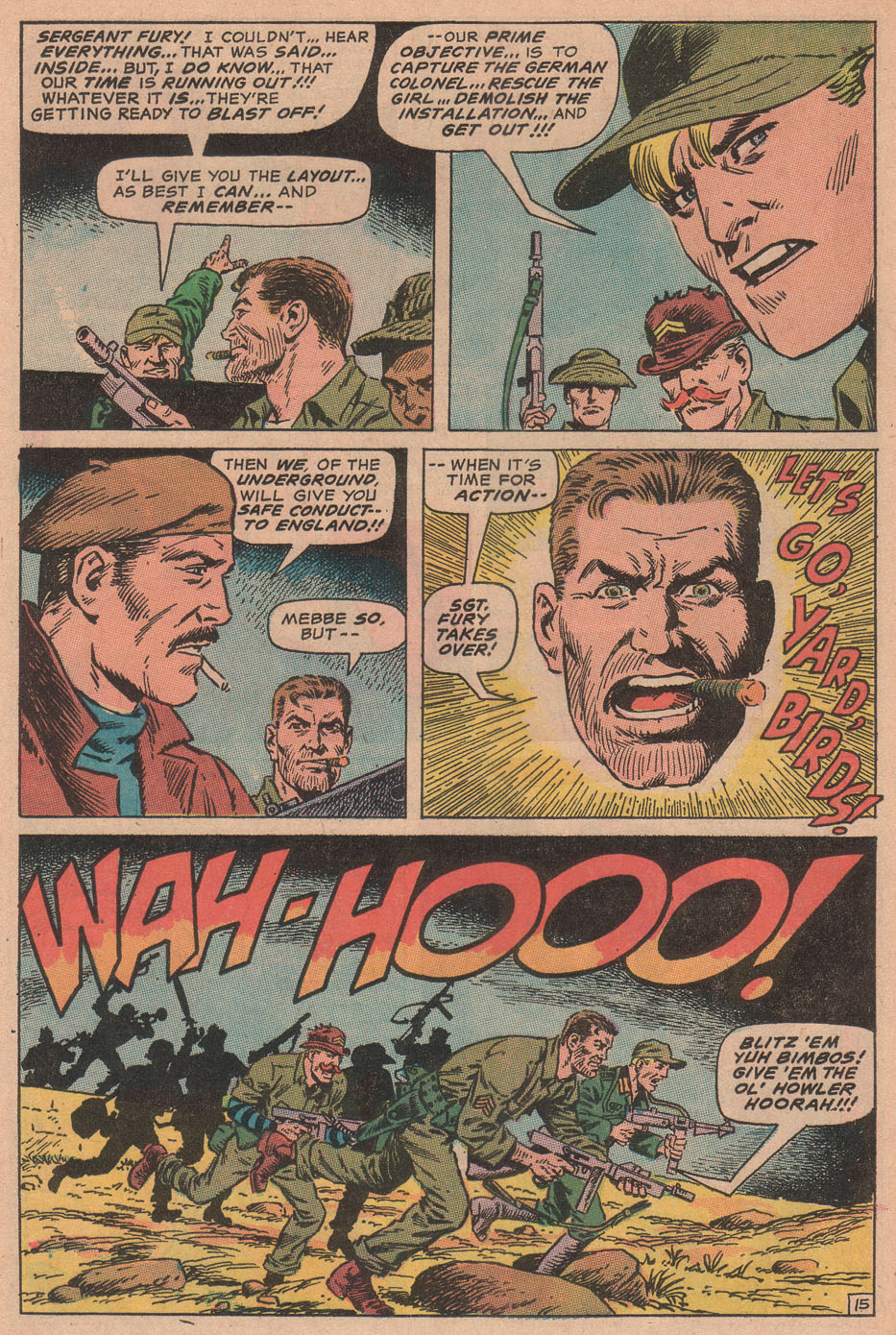 Read online Sgt. Fury comic -  Issue #78 - 24