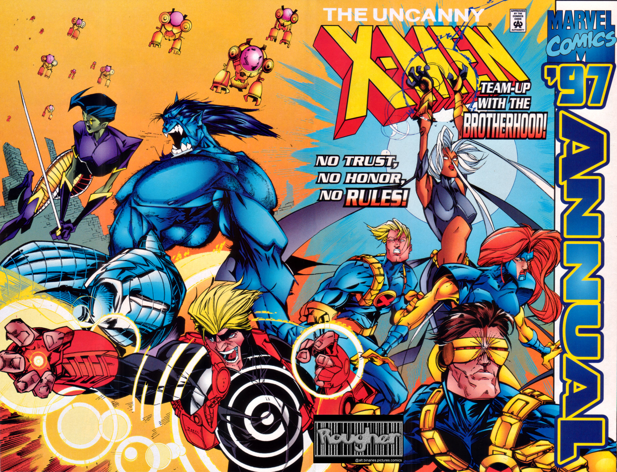 Uncanny X-Men (1963) _Annual_1997 Page 1