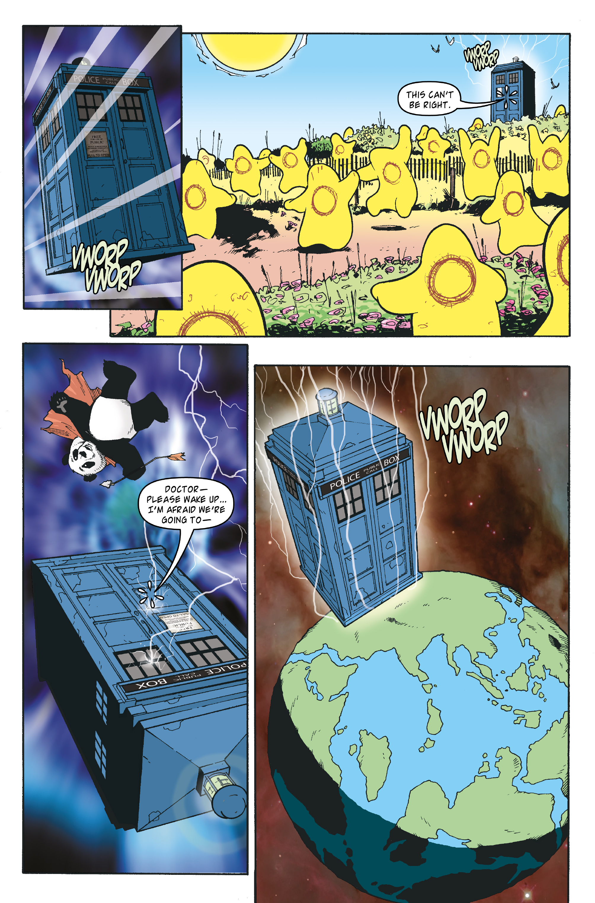 Read online Doctor Who: The Tenth Doctor Archives comic -  Issue #35 - 19