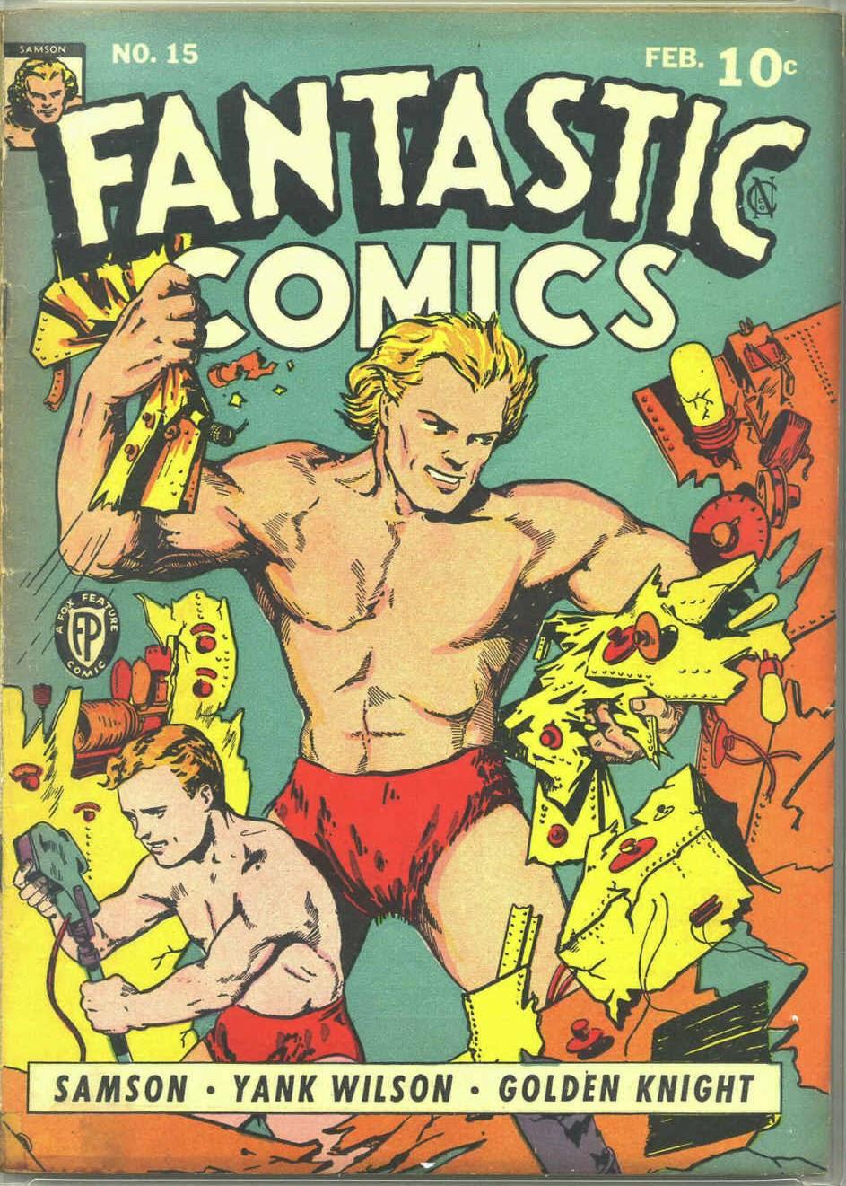 Fantastic Comics 15 Page 1