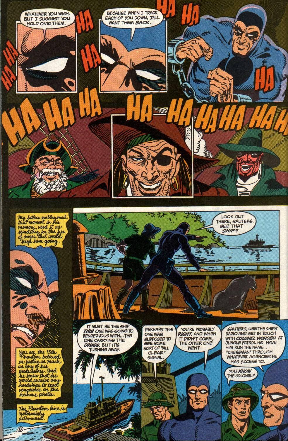 Read online The Phantom (1988) comic -  Issue #2 - 10