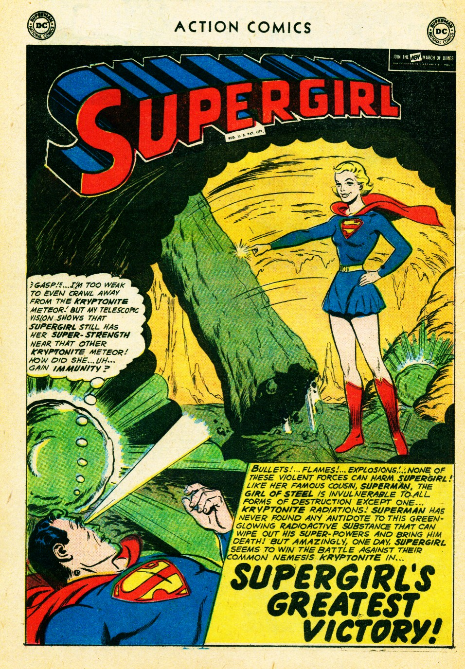 Read online Action Comics (1938) comic -  Issue #262 - 20