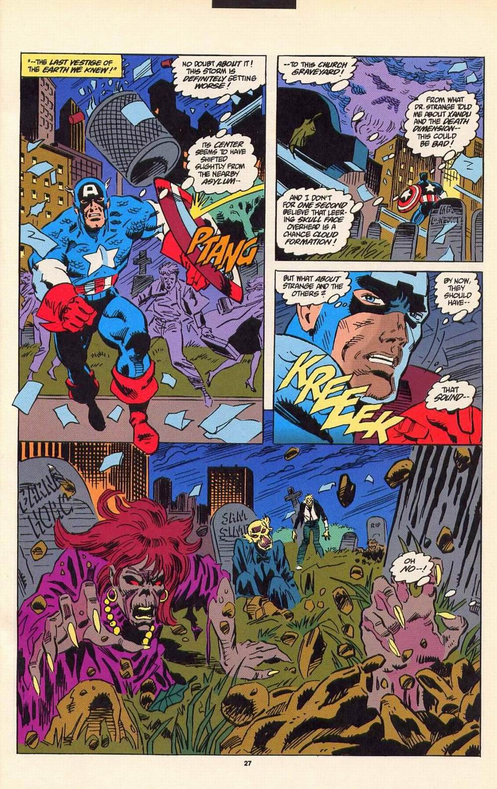 Read online Secret Defenders comic -  Issue #7 - 21