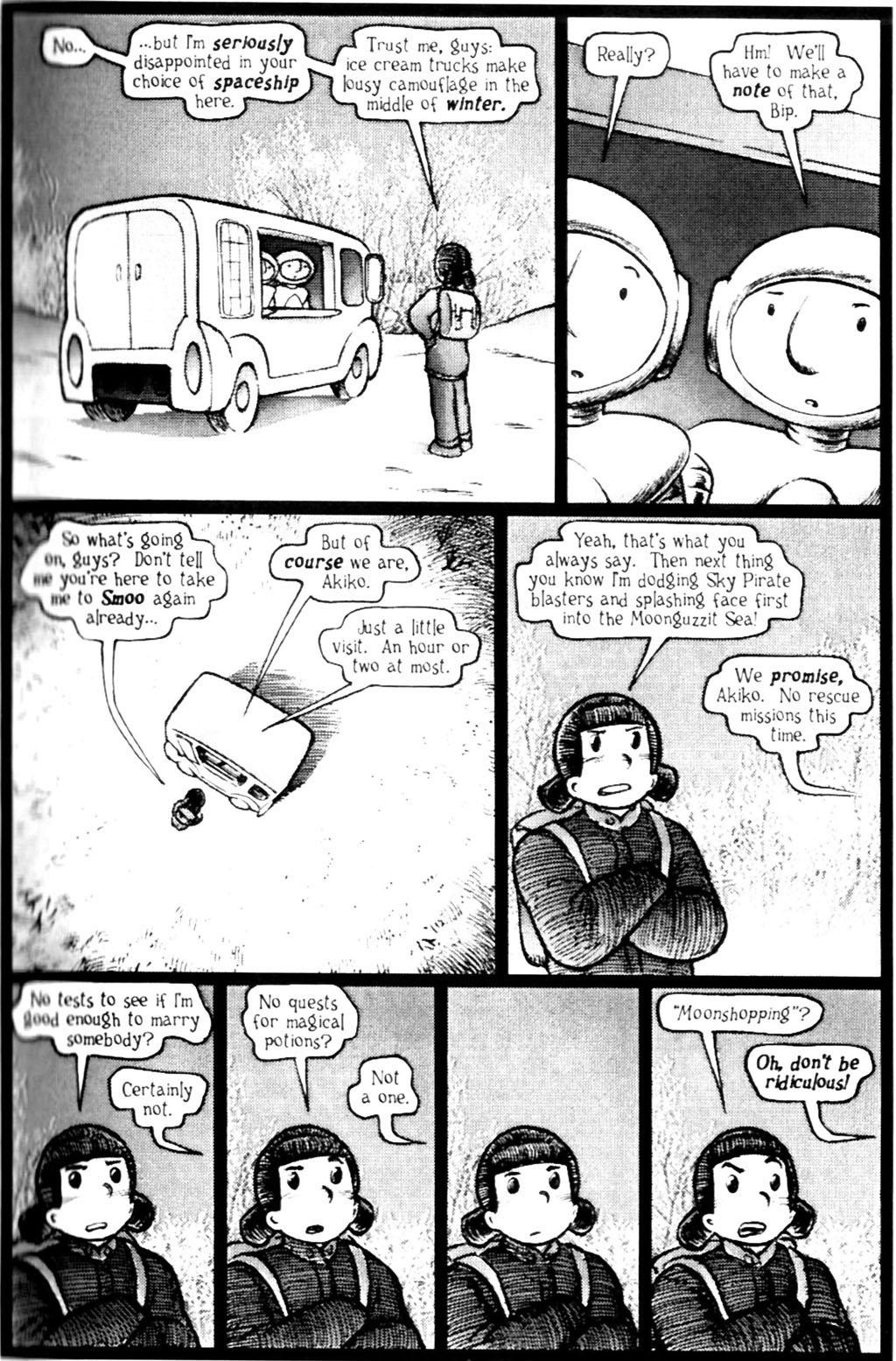 Read online Akiko comic -  Issue #Akiko _TPB 7 - 17