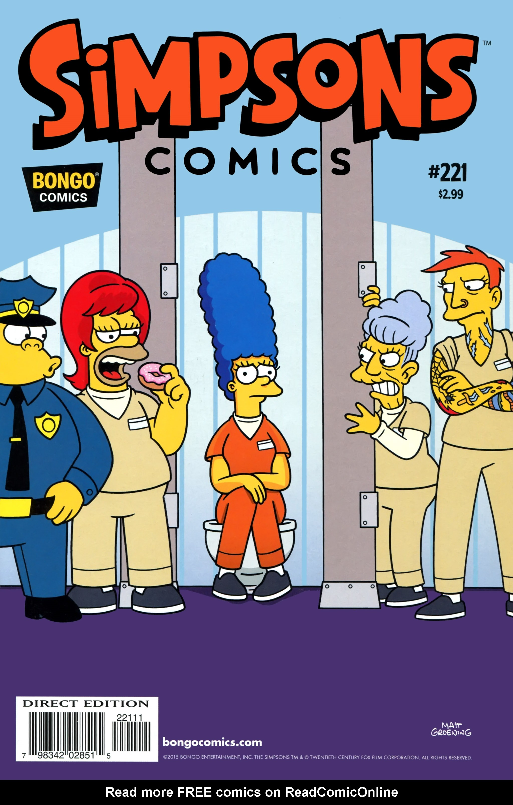 Simpsons Comics 221 Page 1