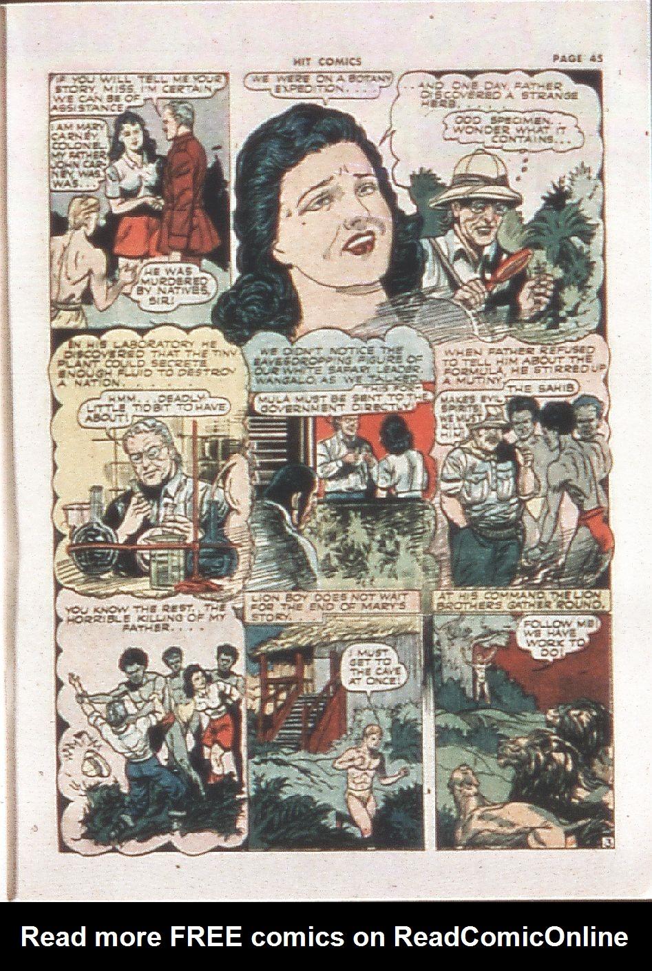 Read online Hit Comics comic -  Issue #21 - 47