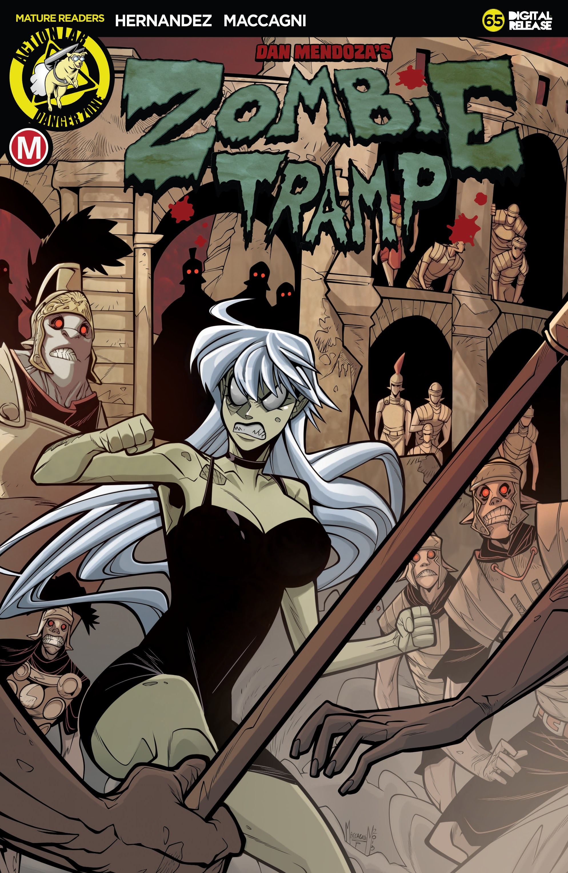 Zombie Tramp (2014) 65 Page 1