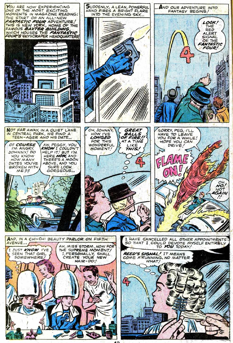 Giant-Size Fantastic Four issue 5 - Page 44